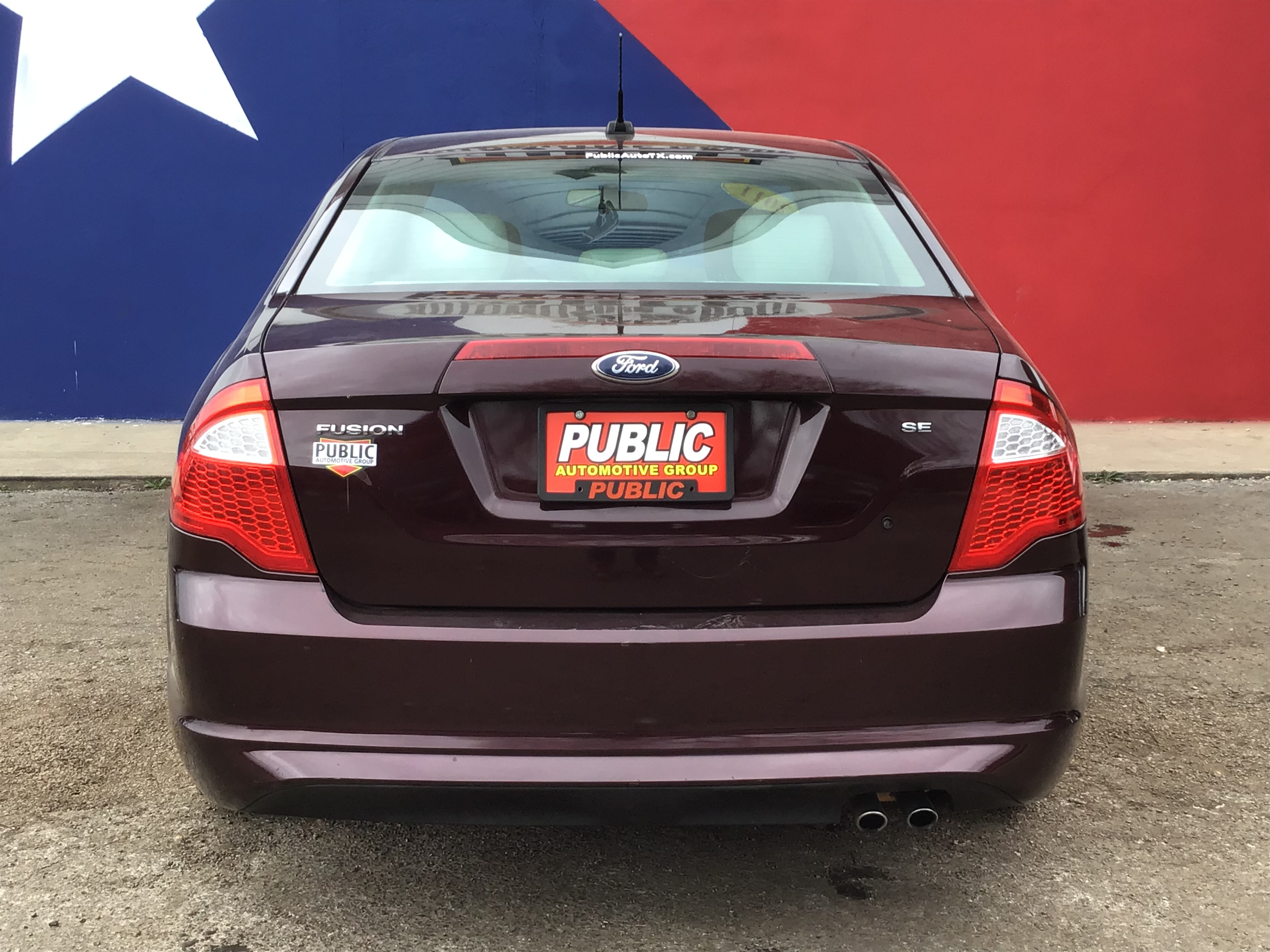 used vehicle - Sedan FORD FUSION 2011