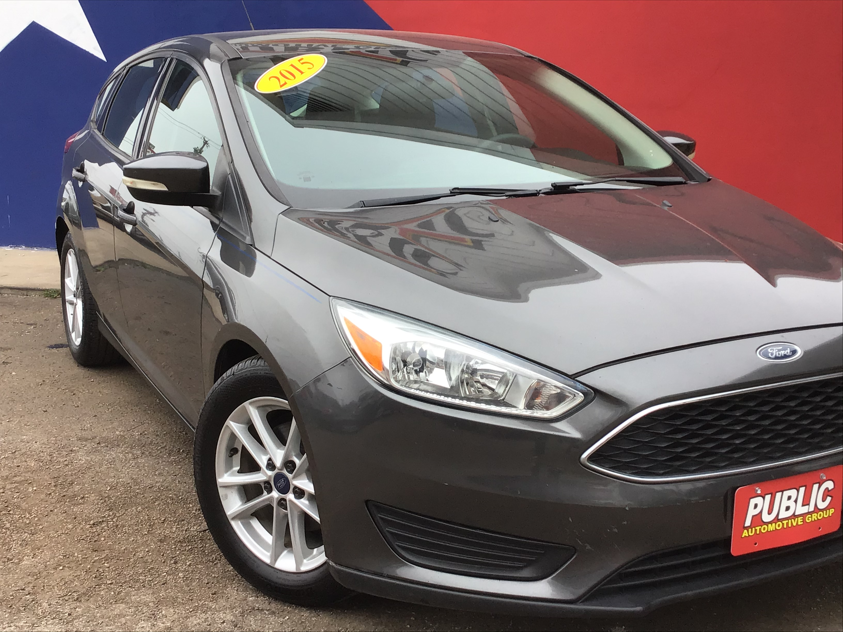 used vehicle - Sedan FORD FOCUS 2015