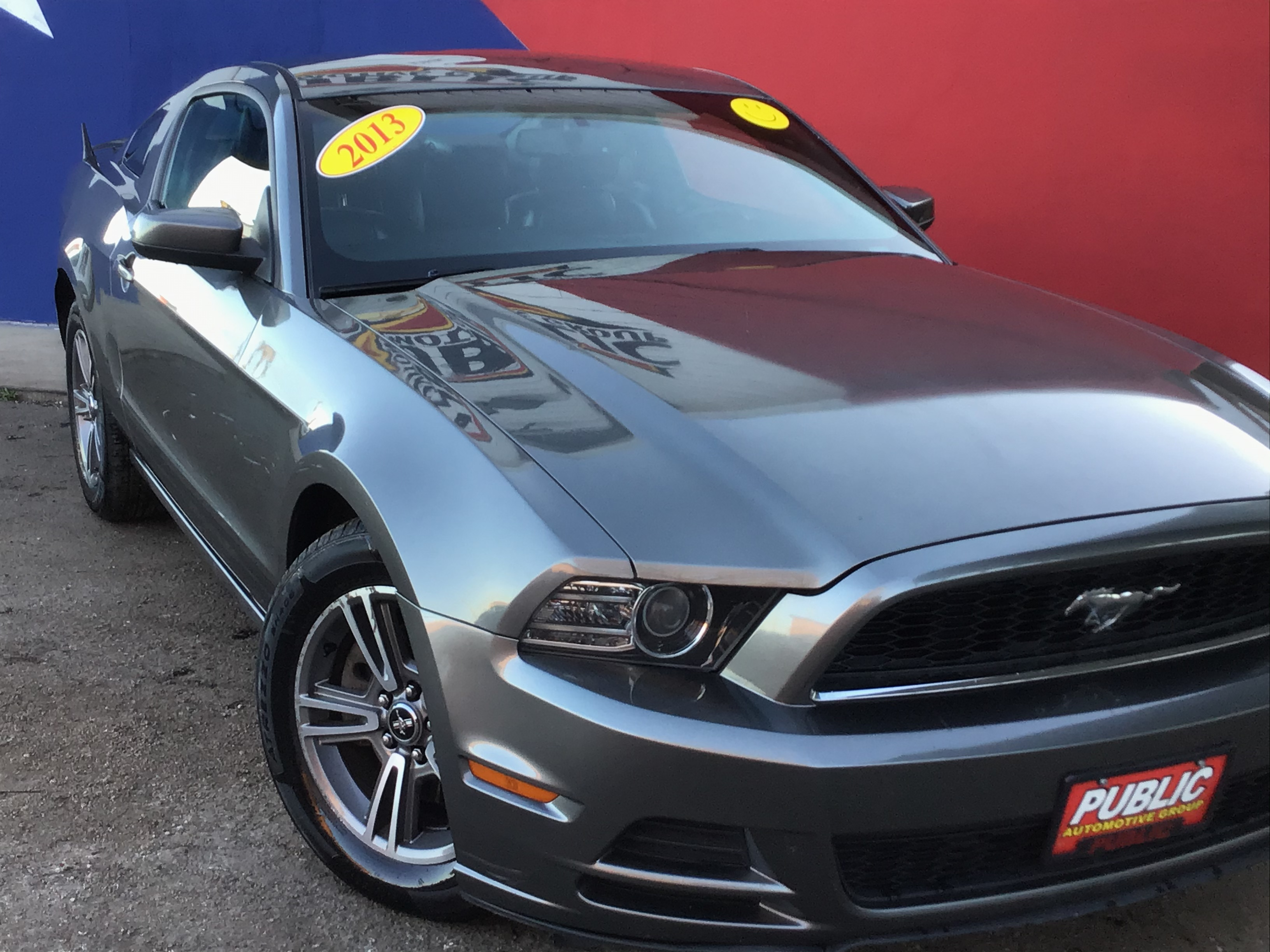 used vehicle - 2-Door Coupe 3.7-Liter 6- FORD MUSTANG 2013