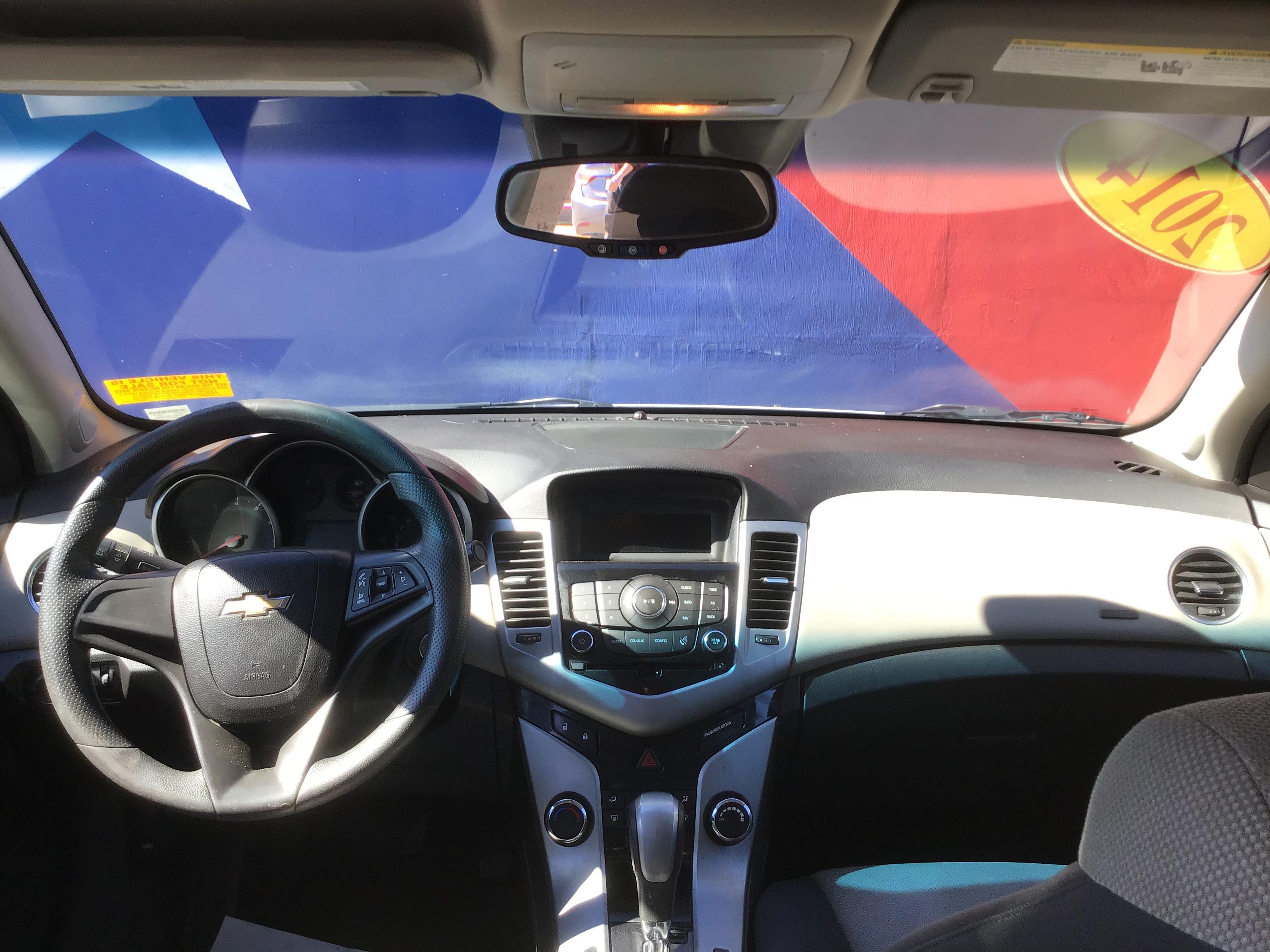 used vehicle - Automatic CHEVROLET CRUZE 2014