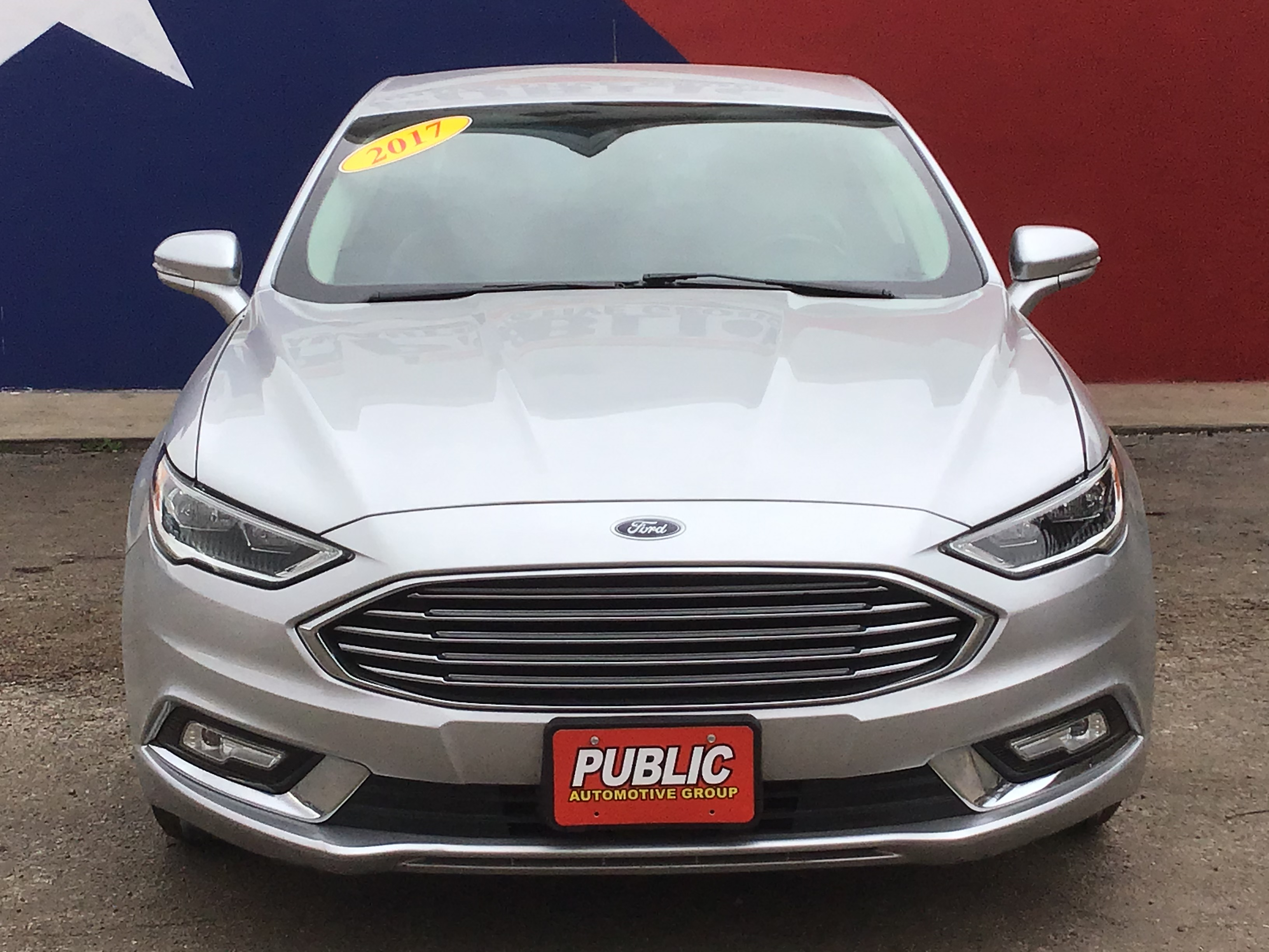 used vehicle - Sedan FORD FUSION 2017