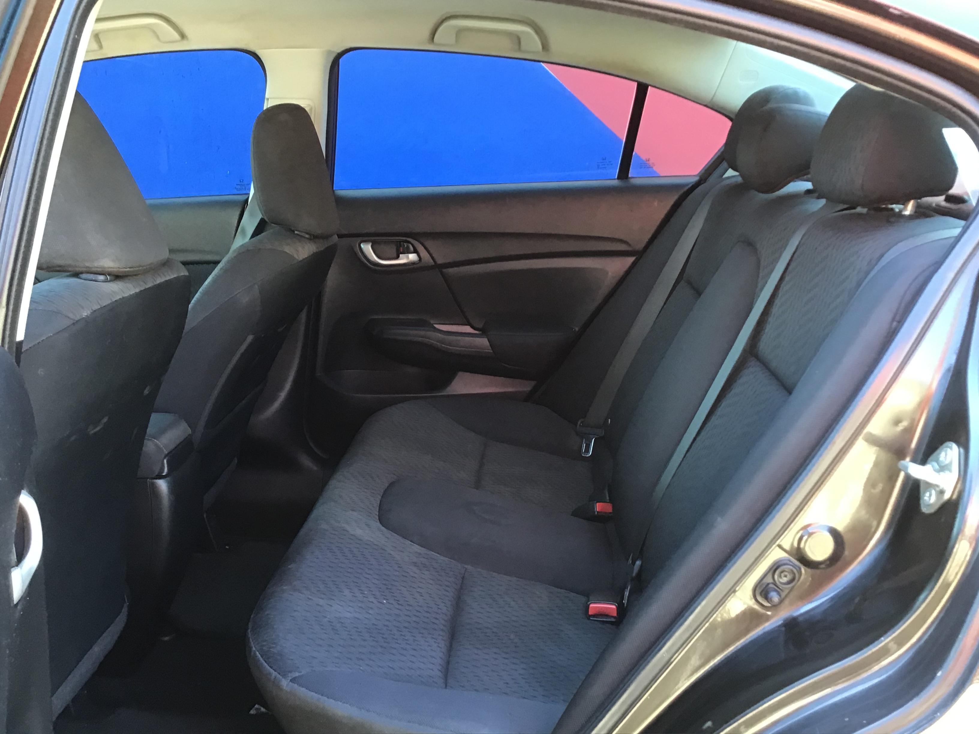 used vehicle - Sedan CVT HONDA CIVIC 2014