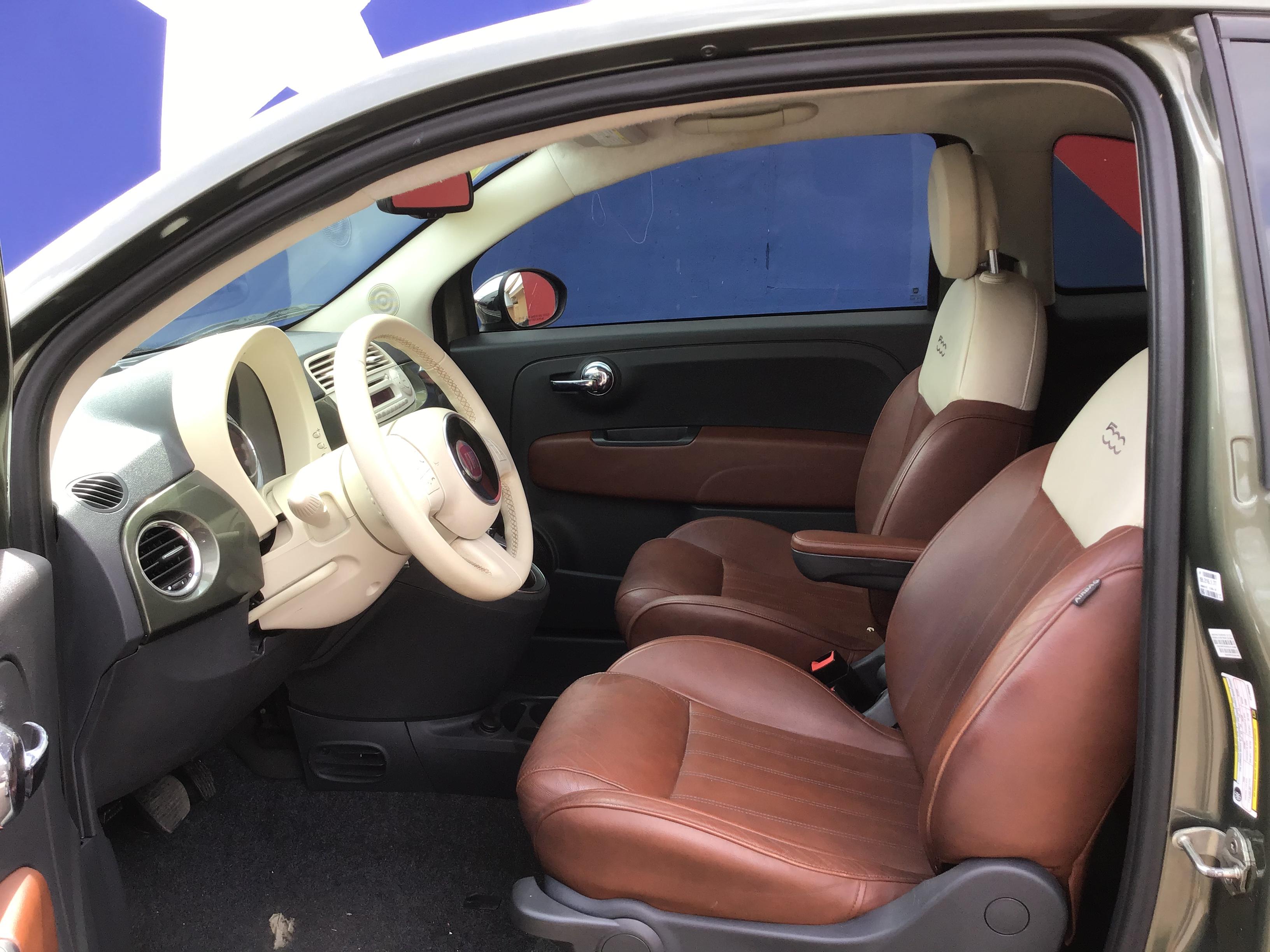 used vehicle - Coupe FIAT 500 2012
