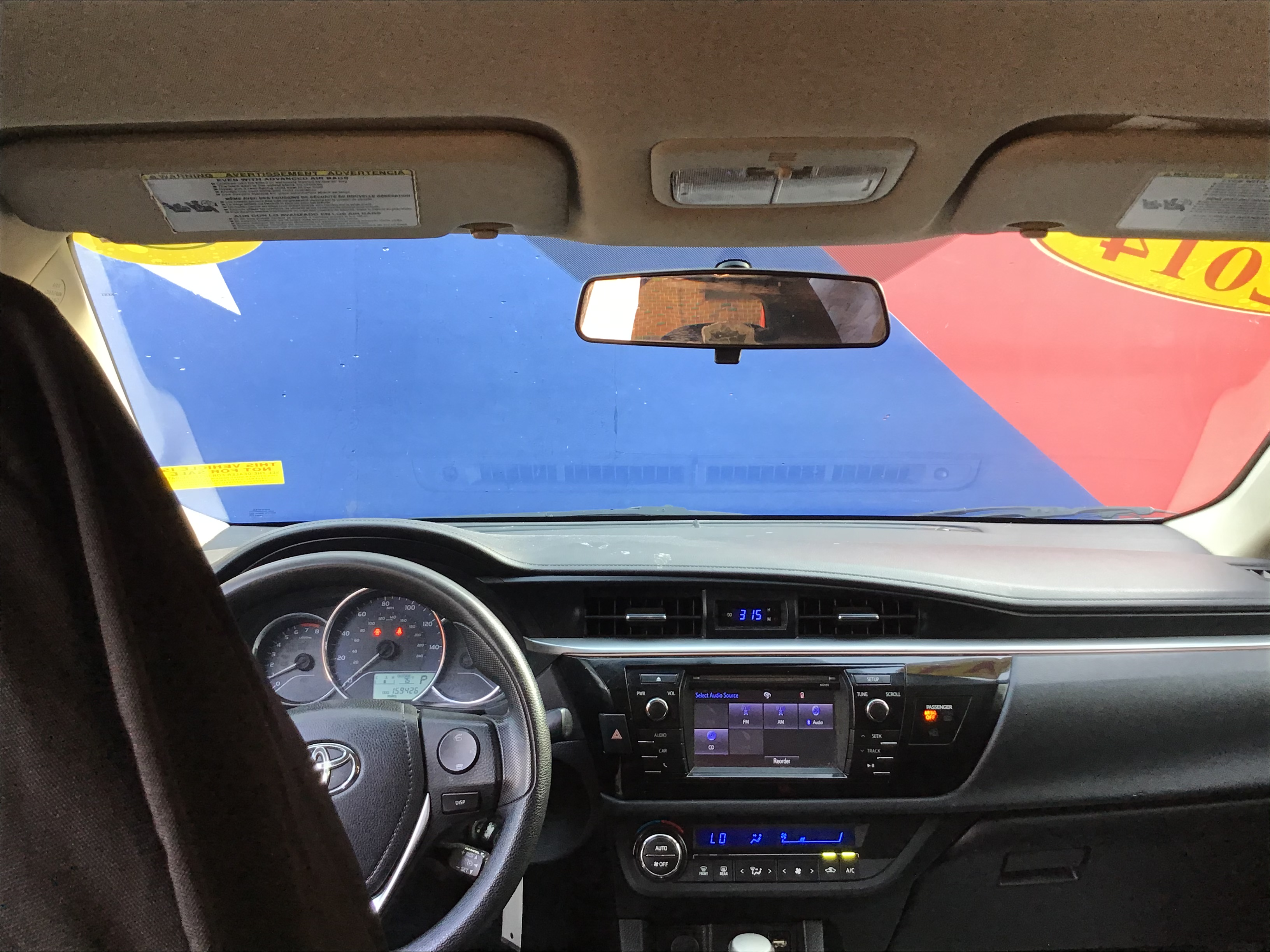 used vehicle - Sedan TOYOTA COROLLA 2014