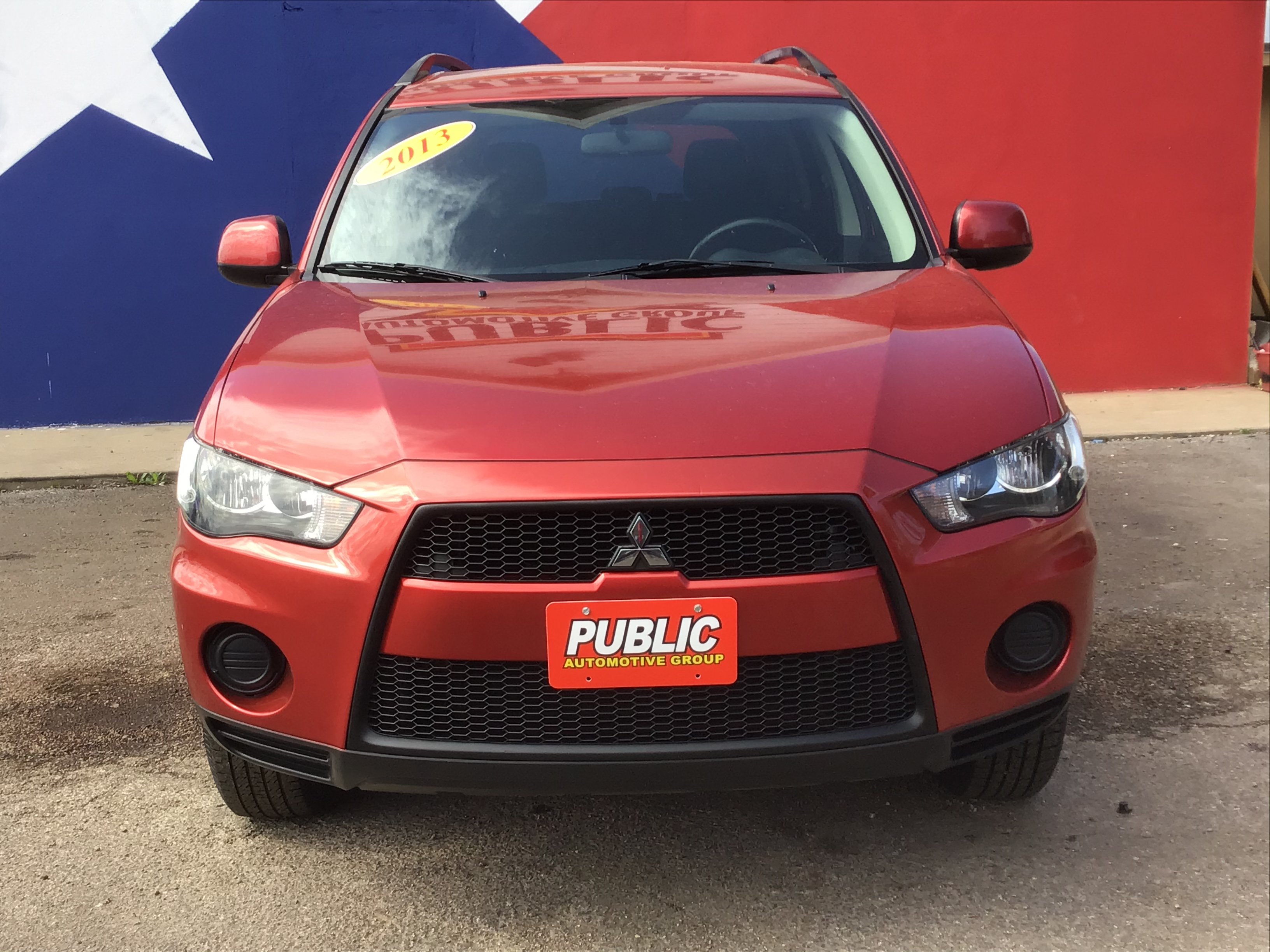 used vehicle - SUV MITSUBISHI OUTLANDER 2013