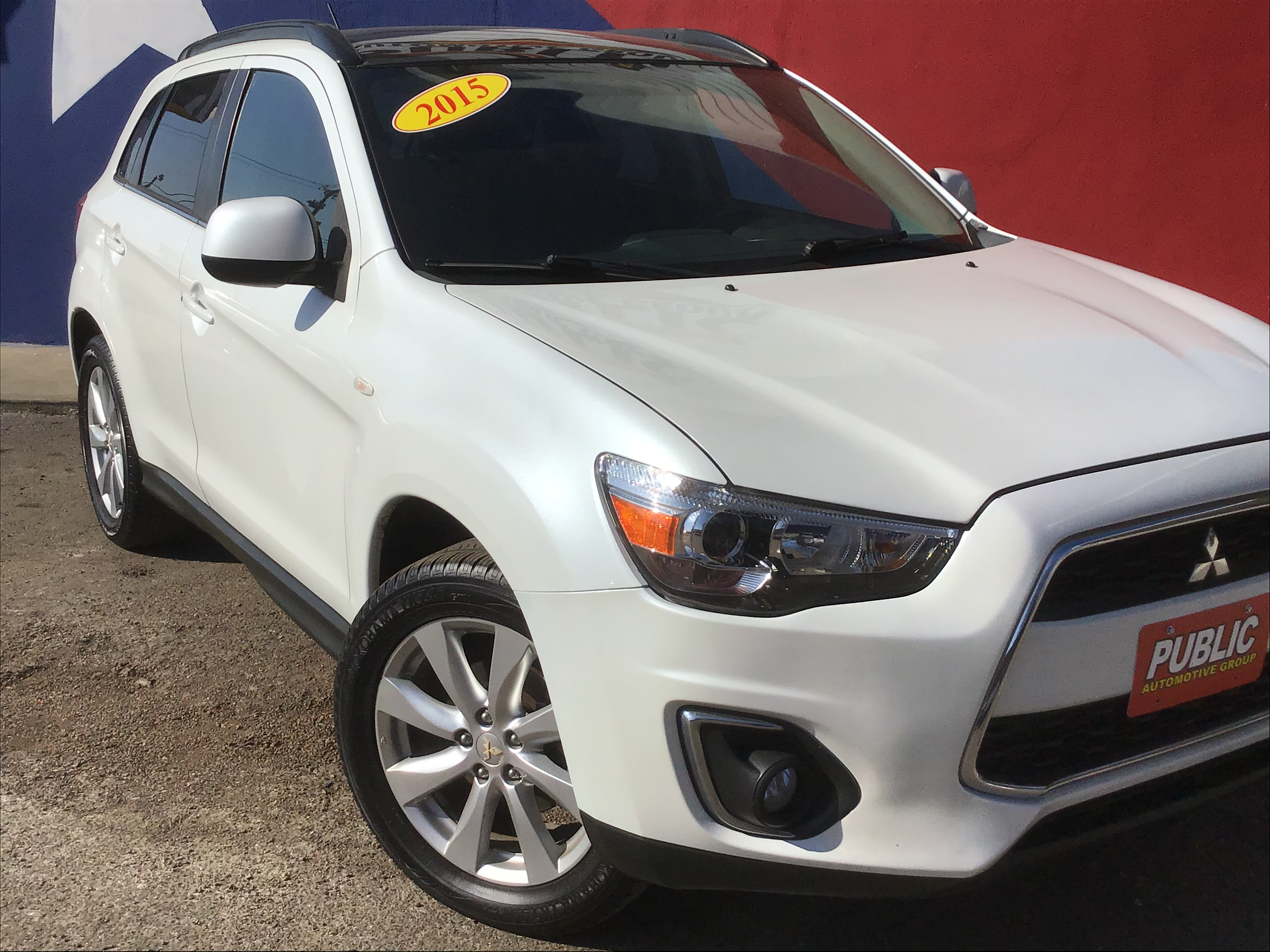 used vehicle - SUV MITSUBISHI OUTLANDER SPORT 2014
