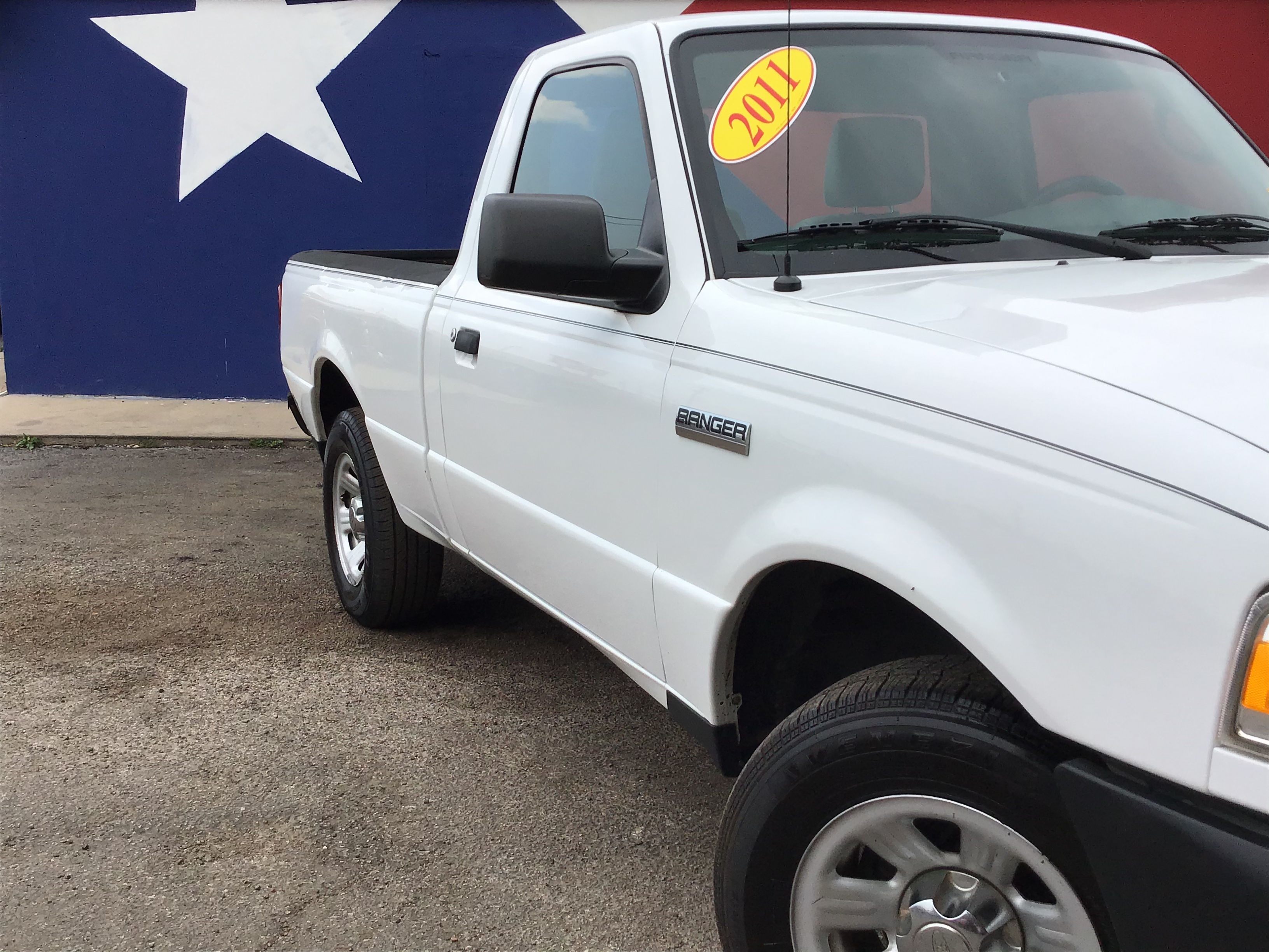 used vehicle - Truck FORD RANGER 2011