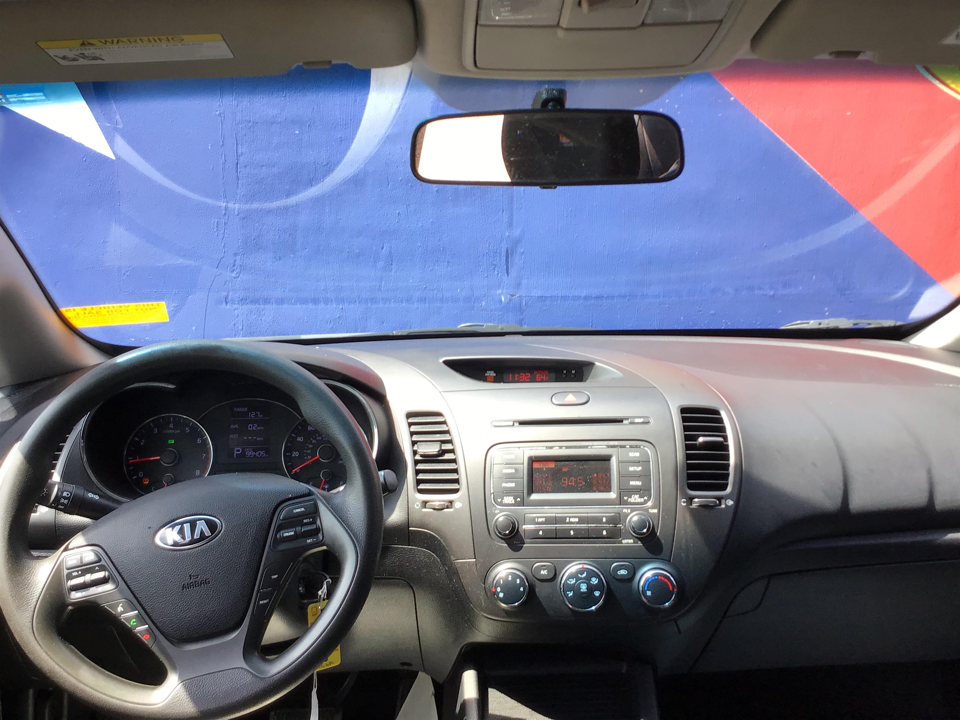 used vehicle -  KIA FORTE 2015