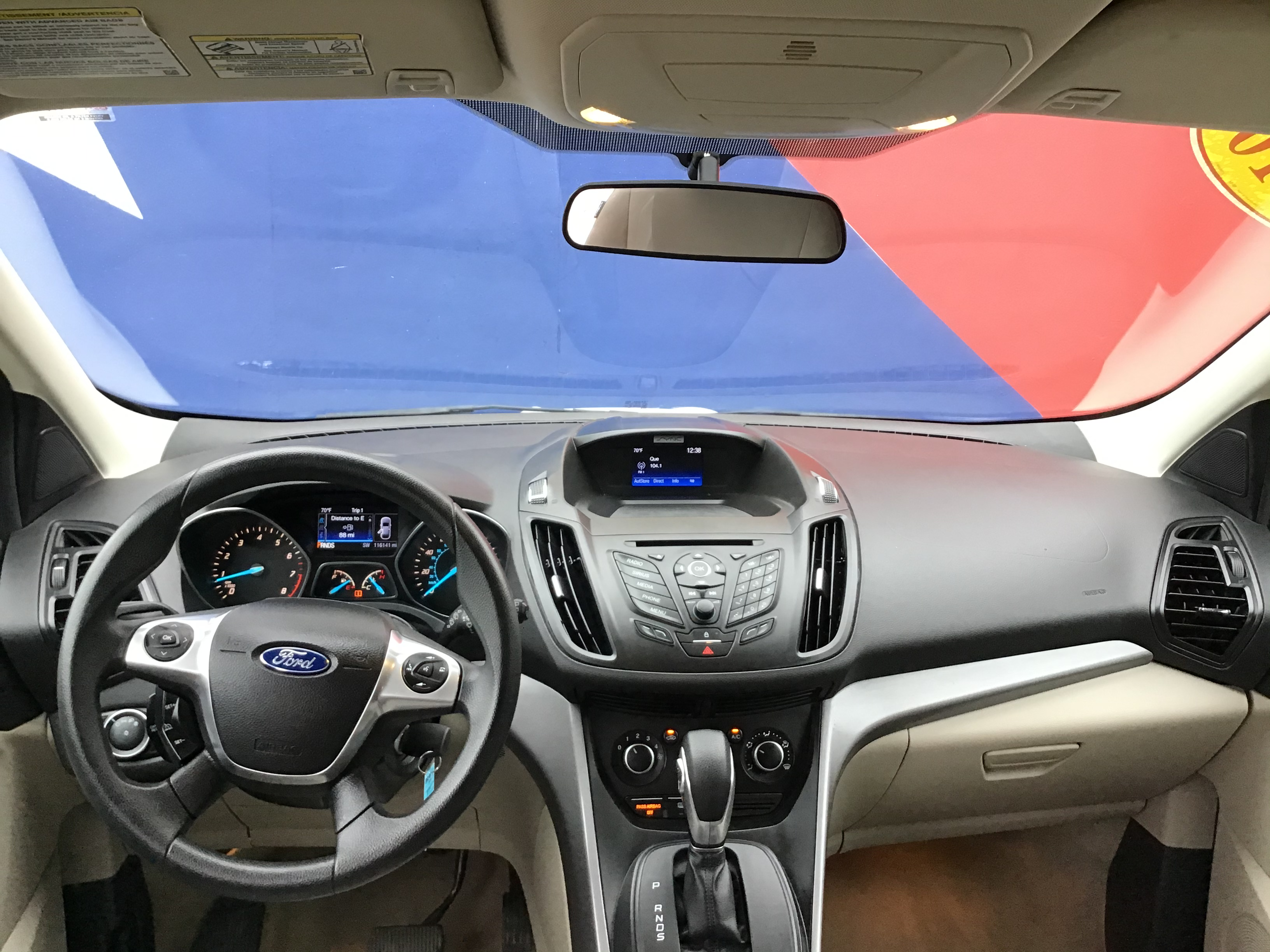 used vehicle - SUV FORD ESCAPE 2016