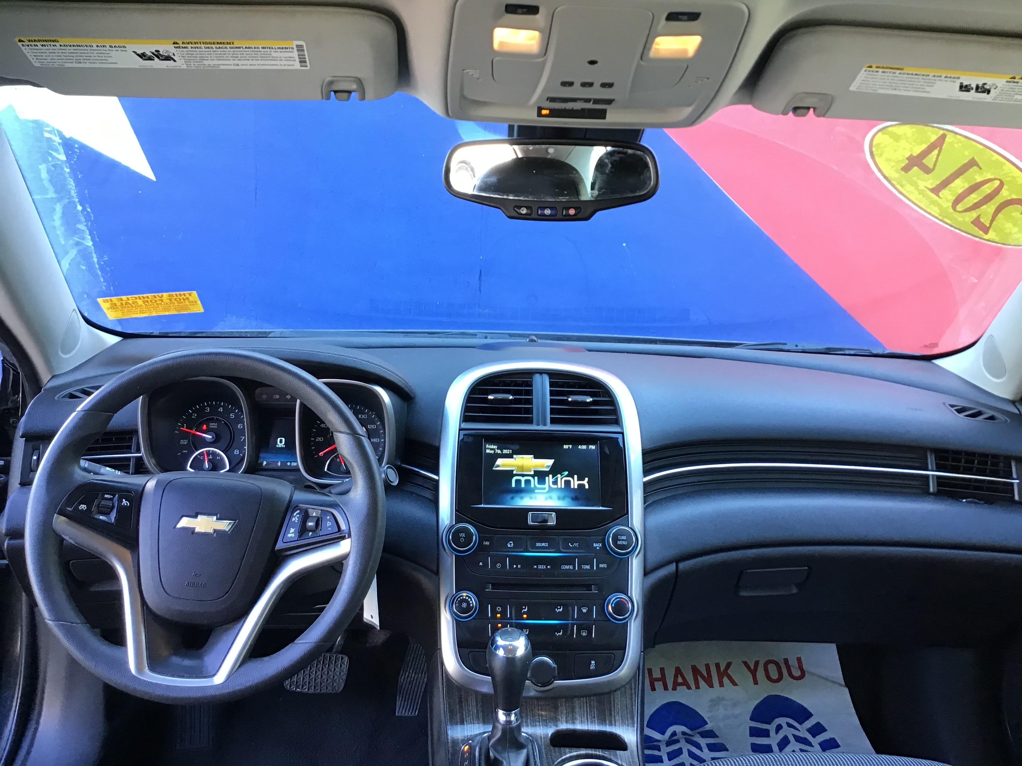 used vehicle - Sedan CHEVROLET MALIBU 2014