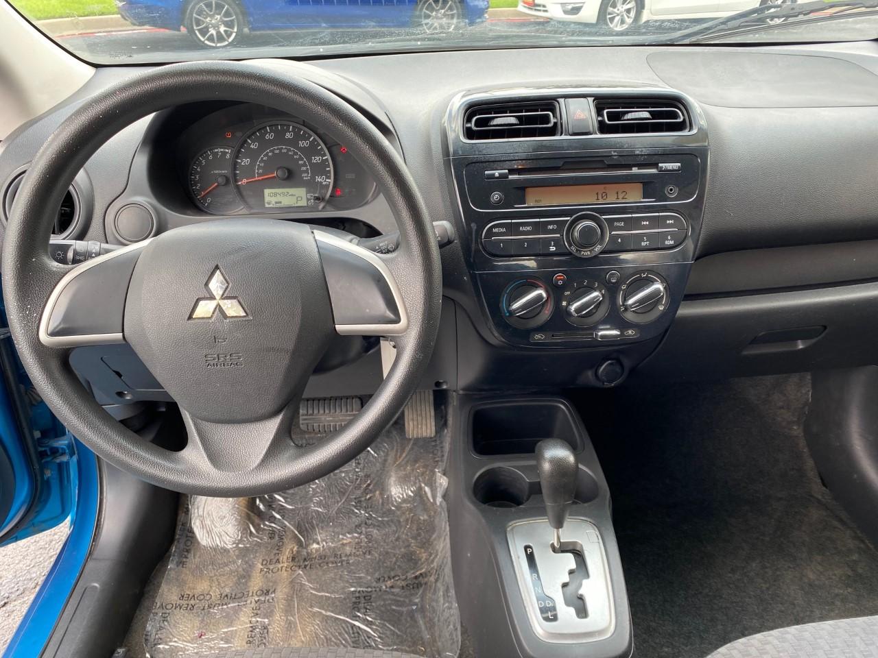 used vehicle - Sedan MITSUBISHI MIRAGE 2017