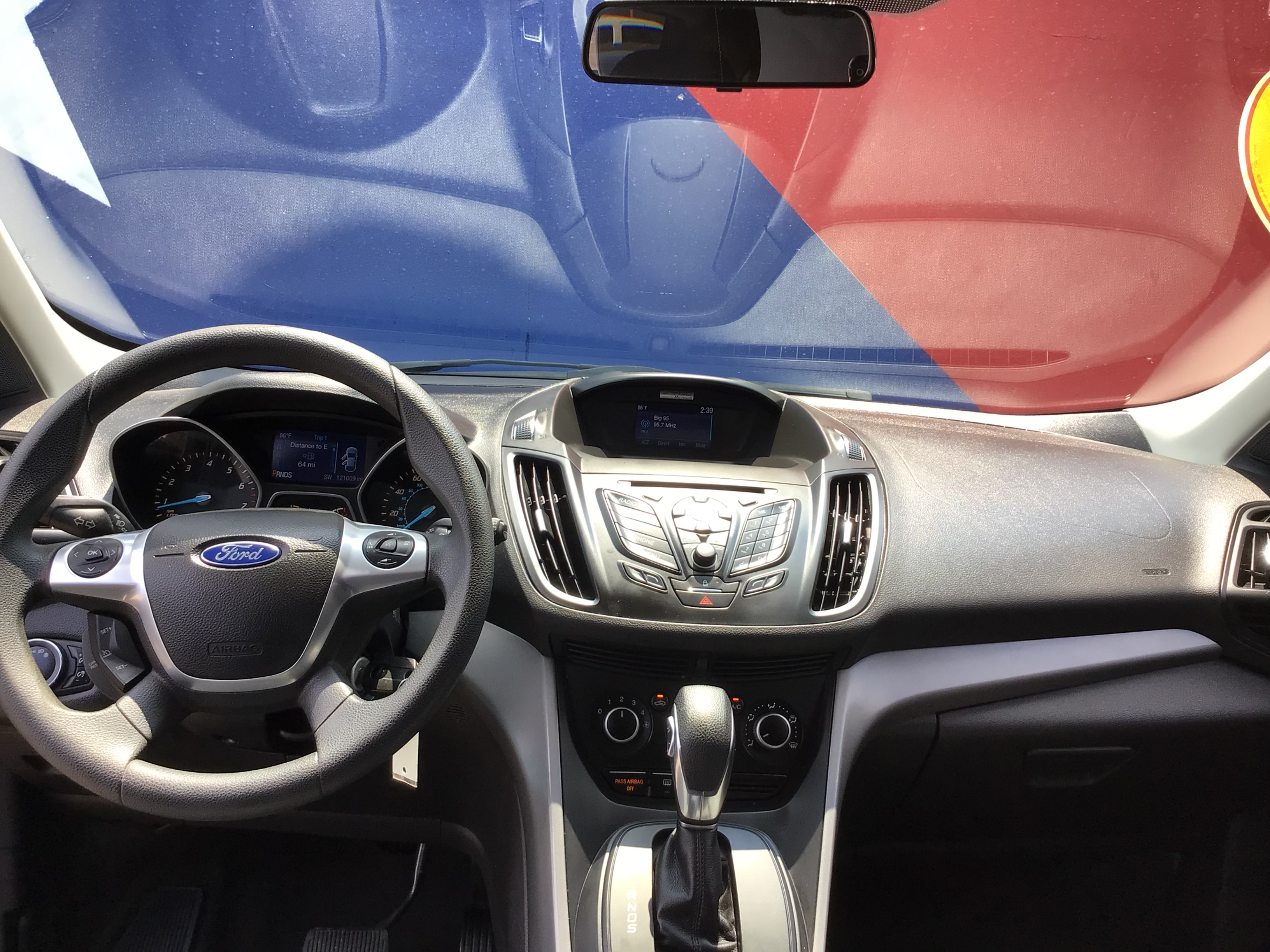 used vehicle - SUV FORD ESCAPE 2015
