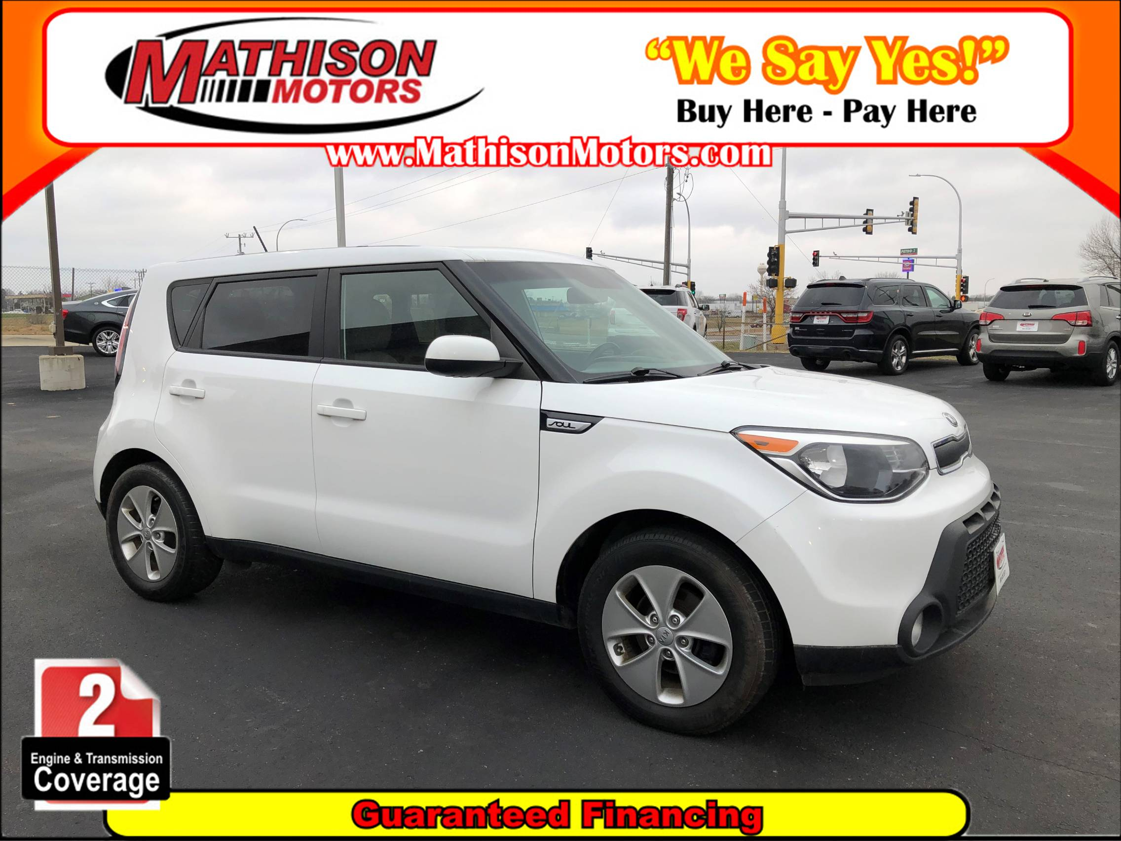 used vehicle - Sedan KIA SOUL 2015