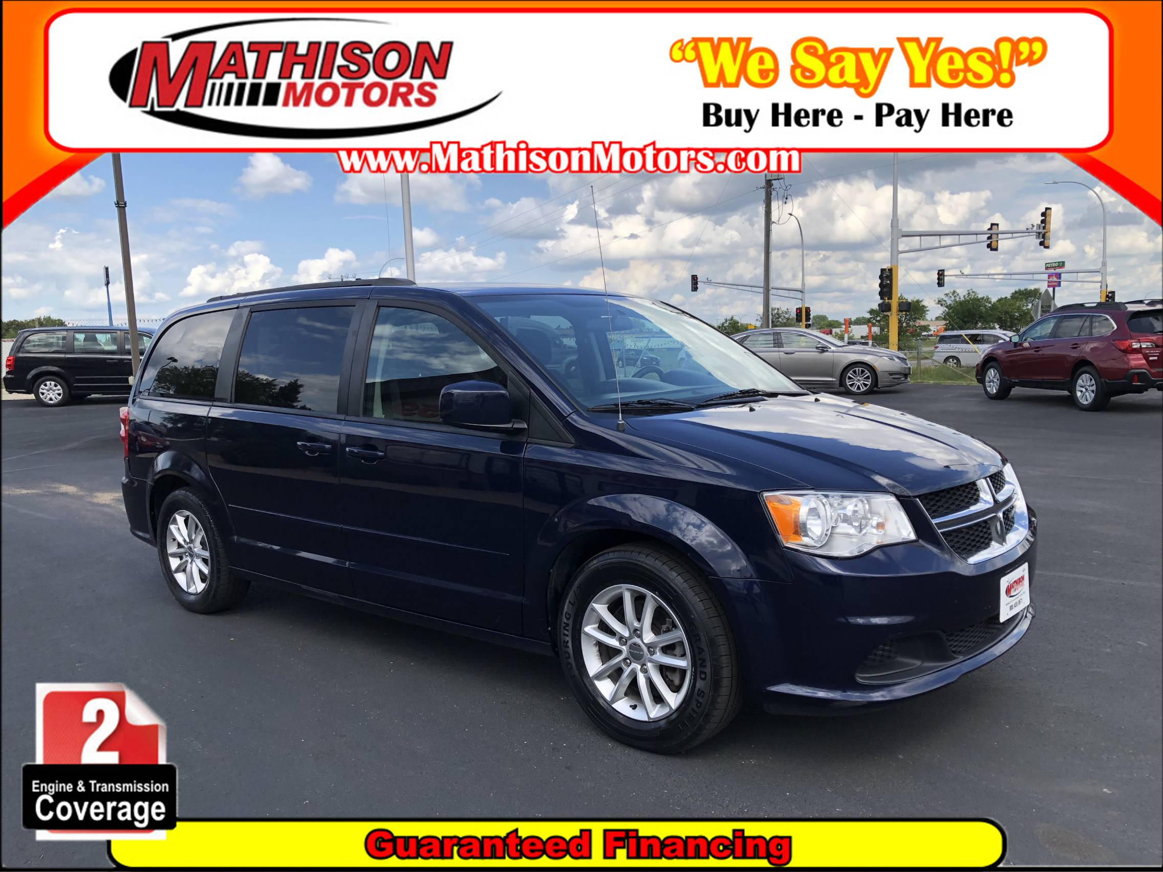 used vehicle - Passenger Van Dodge Grand Caravan 2016