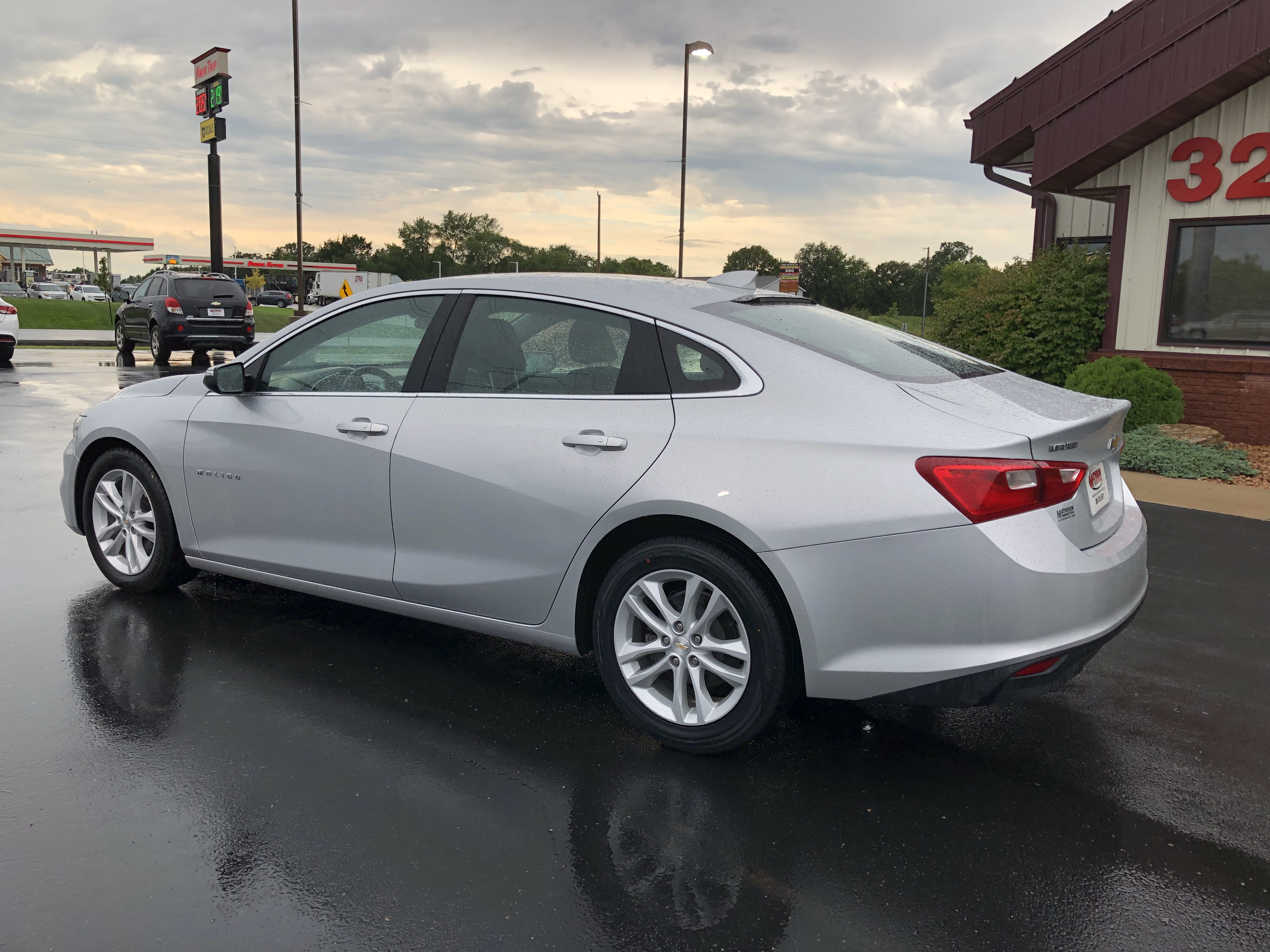 used vehicle - Sedan Chevrolet Malibu 2018