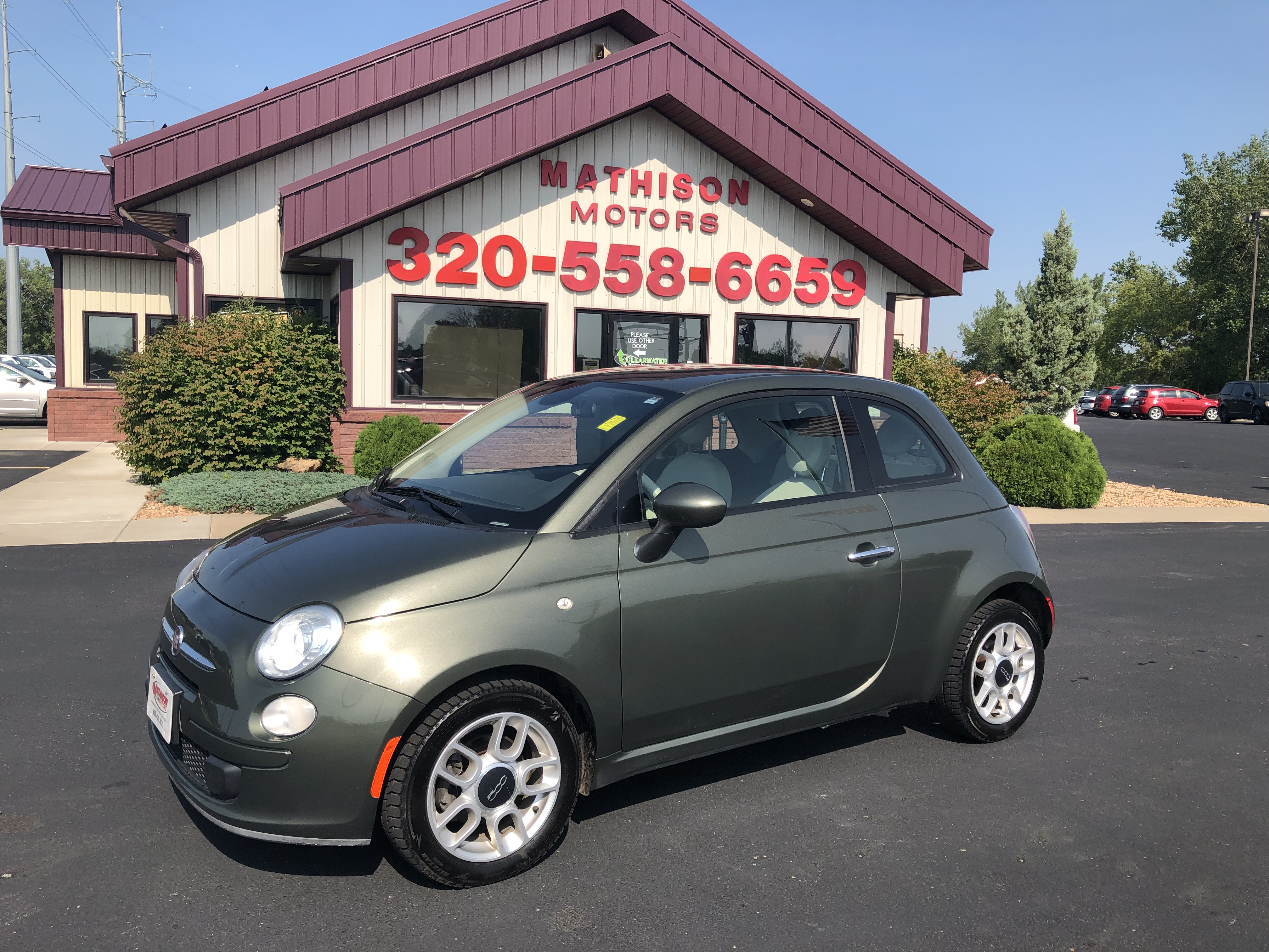 used vehicle - Coupe FIAT 500 2015