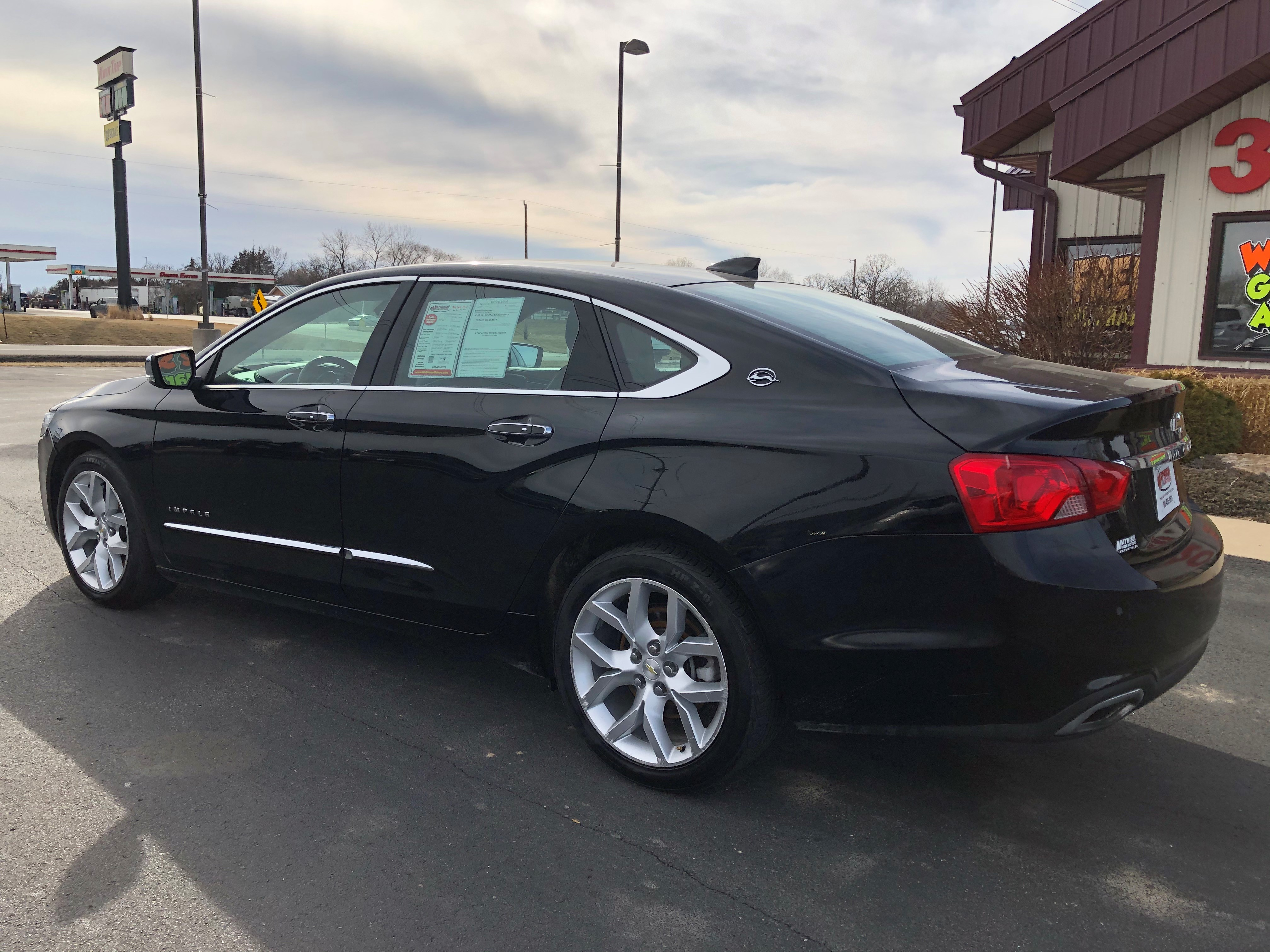 used vehicle - Sedan CHEVROLET IMPALA 2016