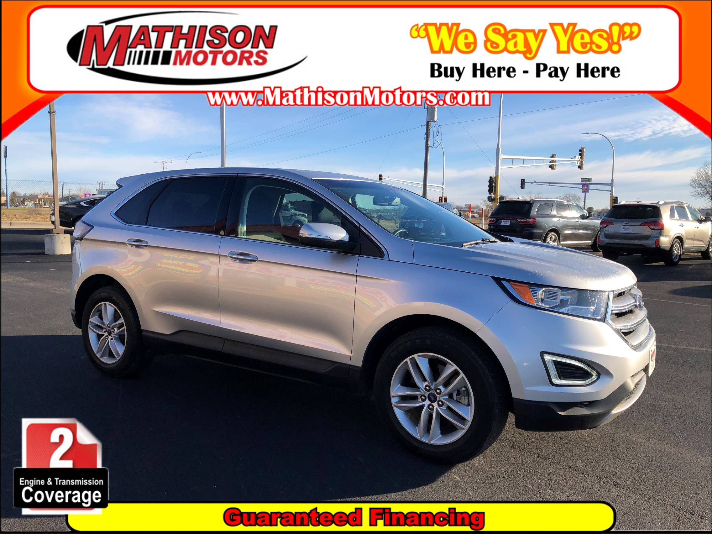 Used FORD EDGE 2017 MATHISON SEL