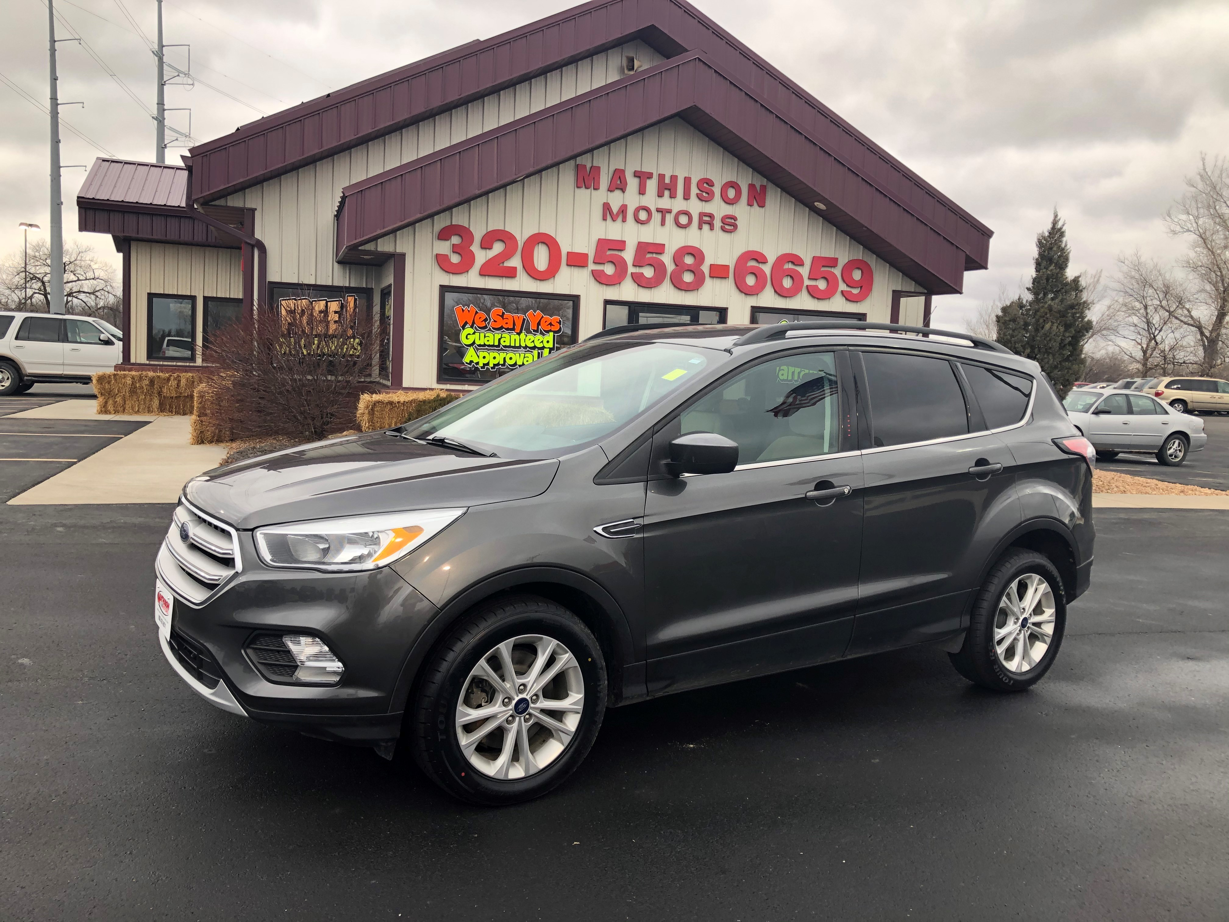 used vehicle - SUV FORD ESCAPE 2018