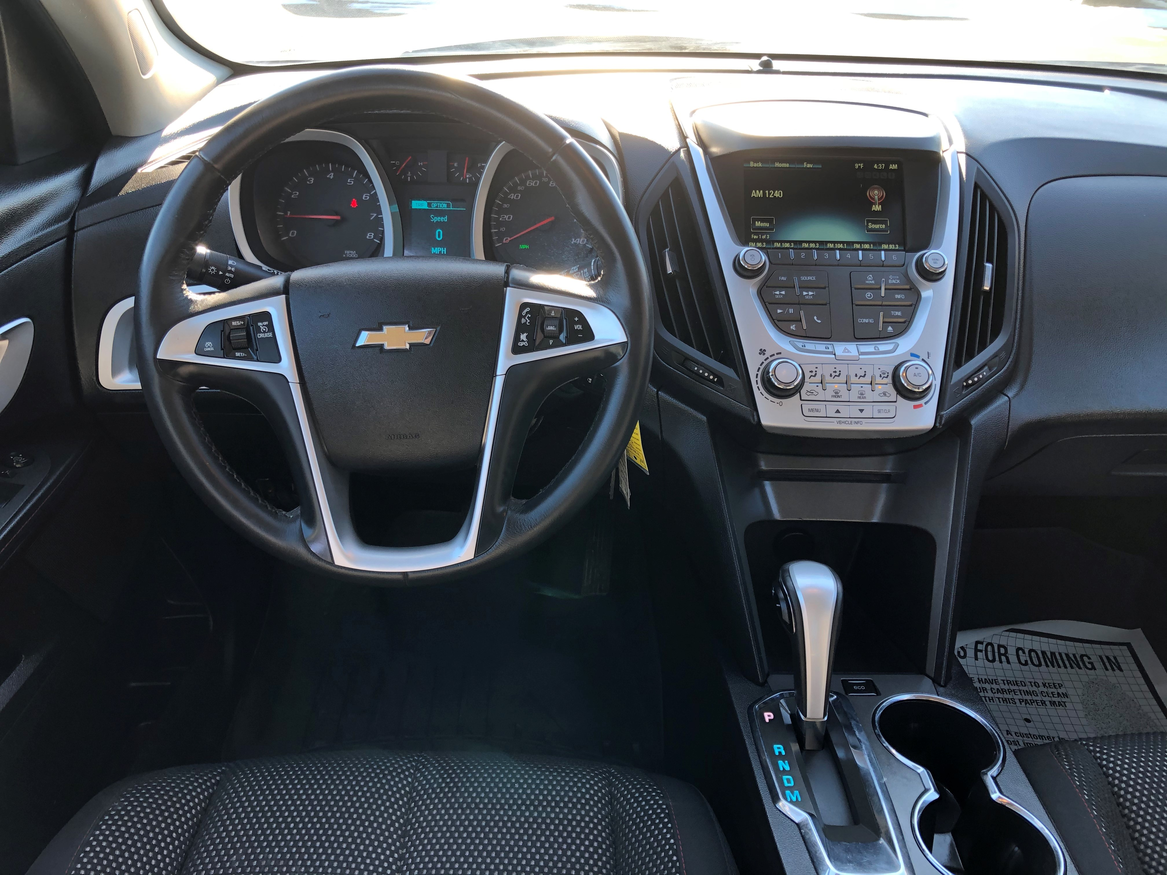 used vehicle - SUV CHEVROLET EQUINOX 2015