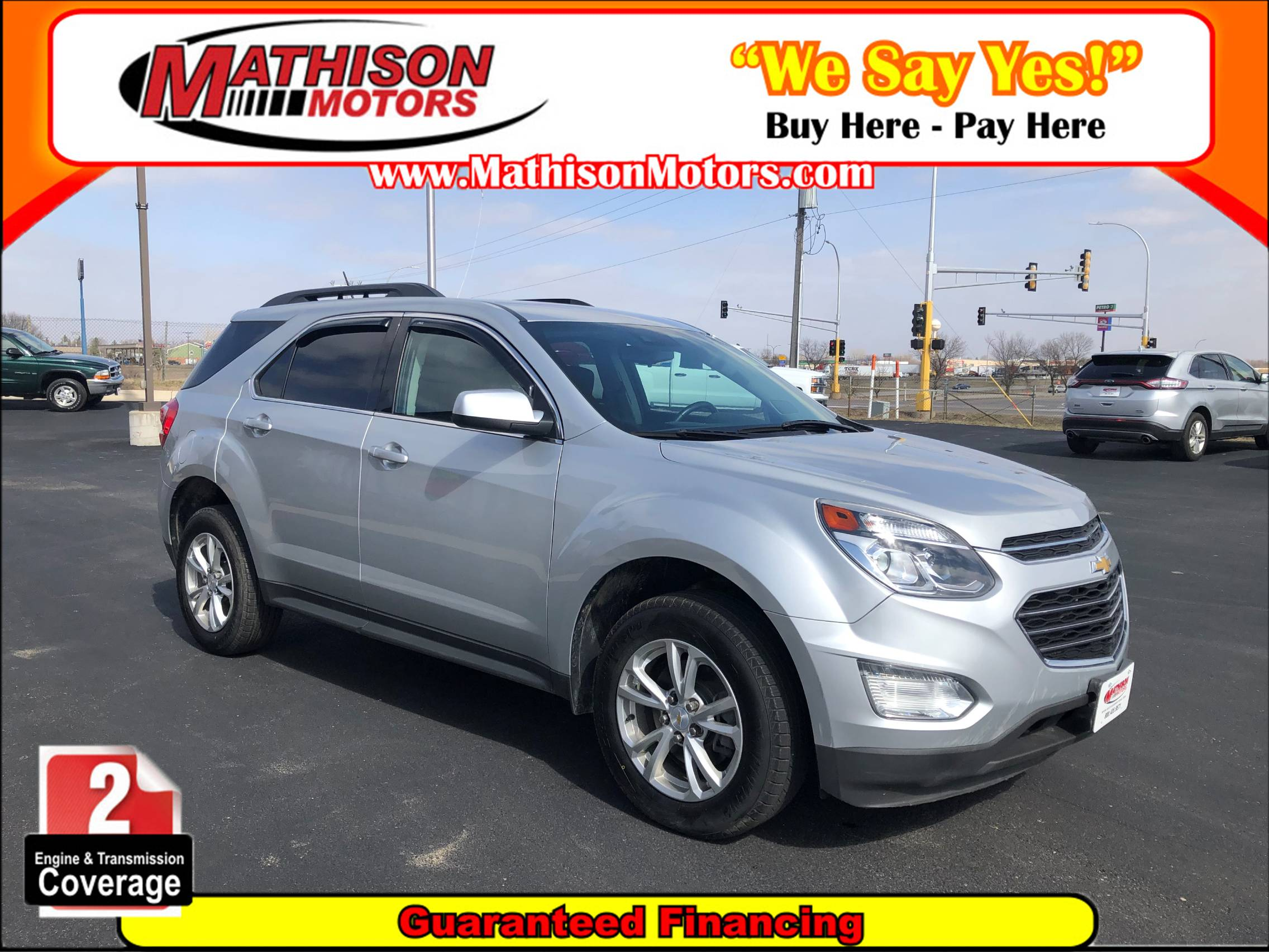 used vehicle - SUV CHEVROLET EQUINOX 2017