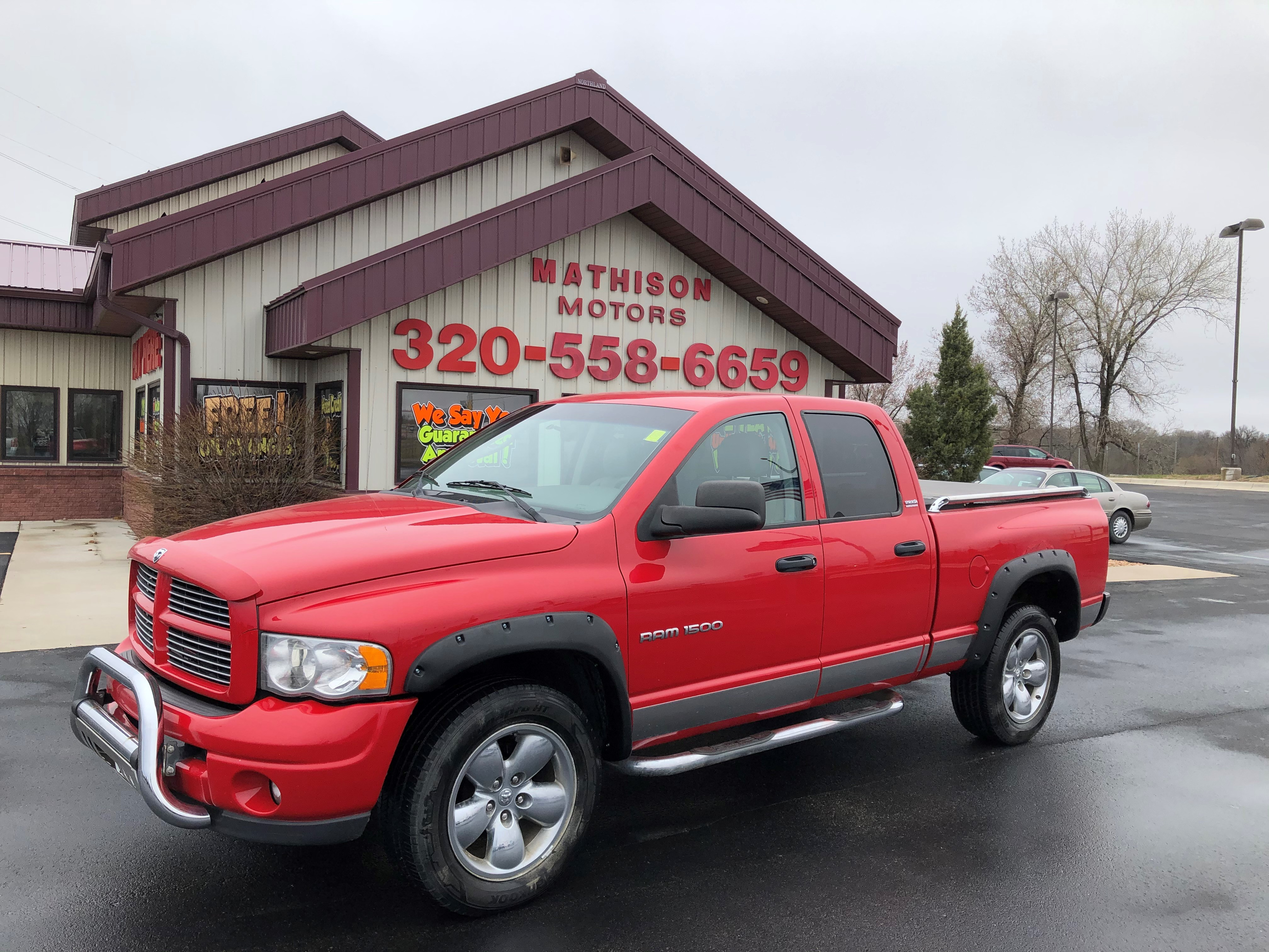 used vehicle - Truck DODGE RAM 1500 2002