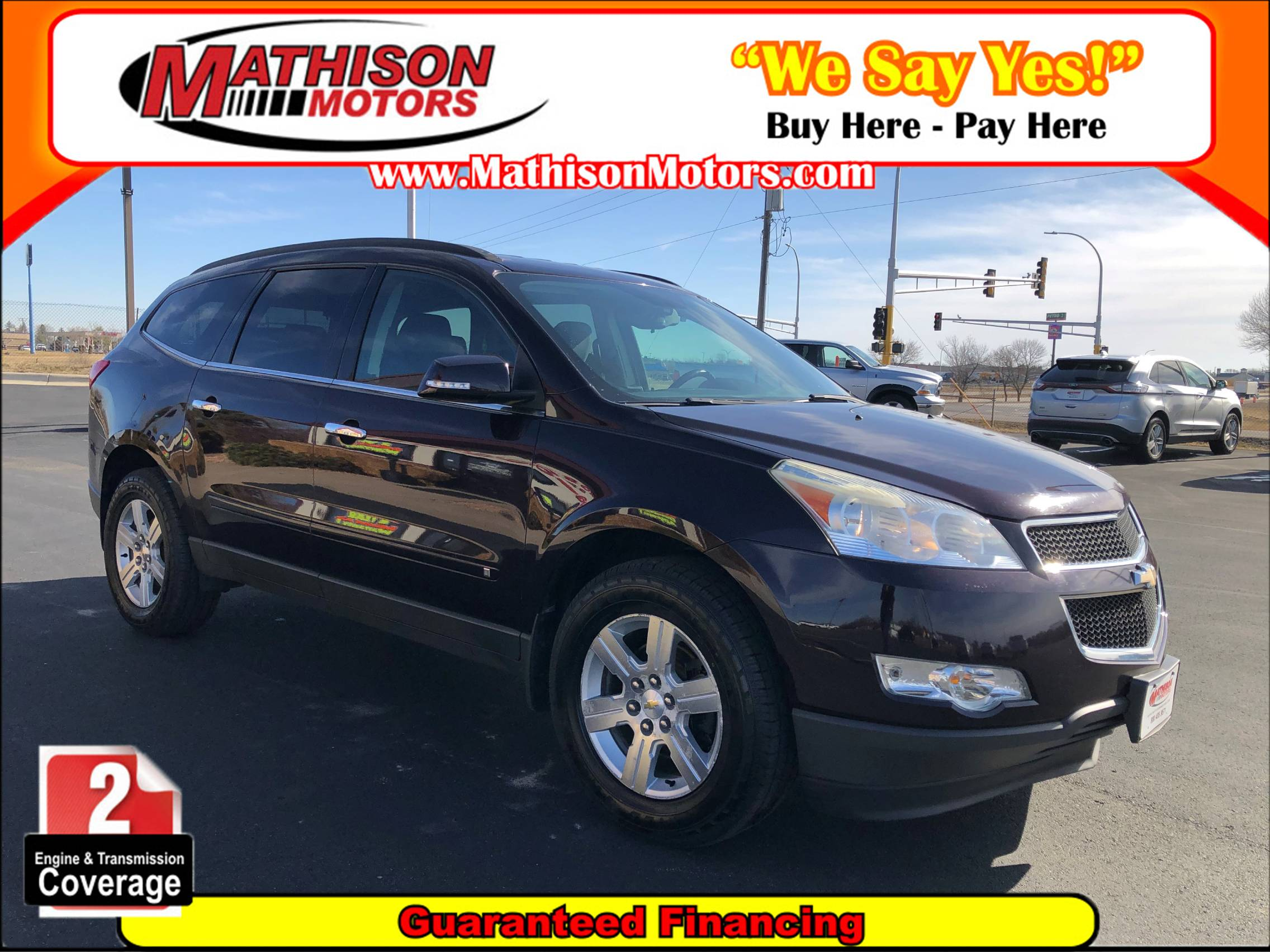 used vehicle - SUV CHEVROLET TRAVERSE 2010