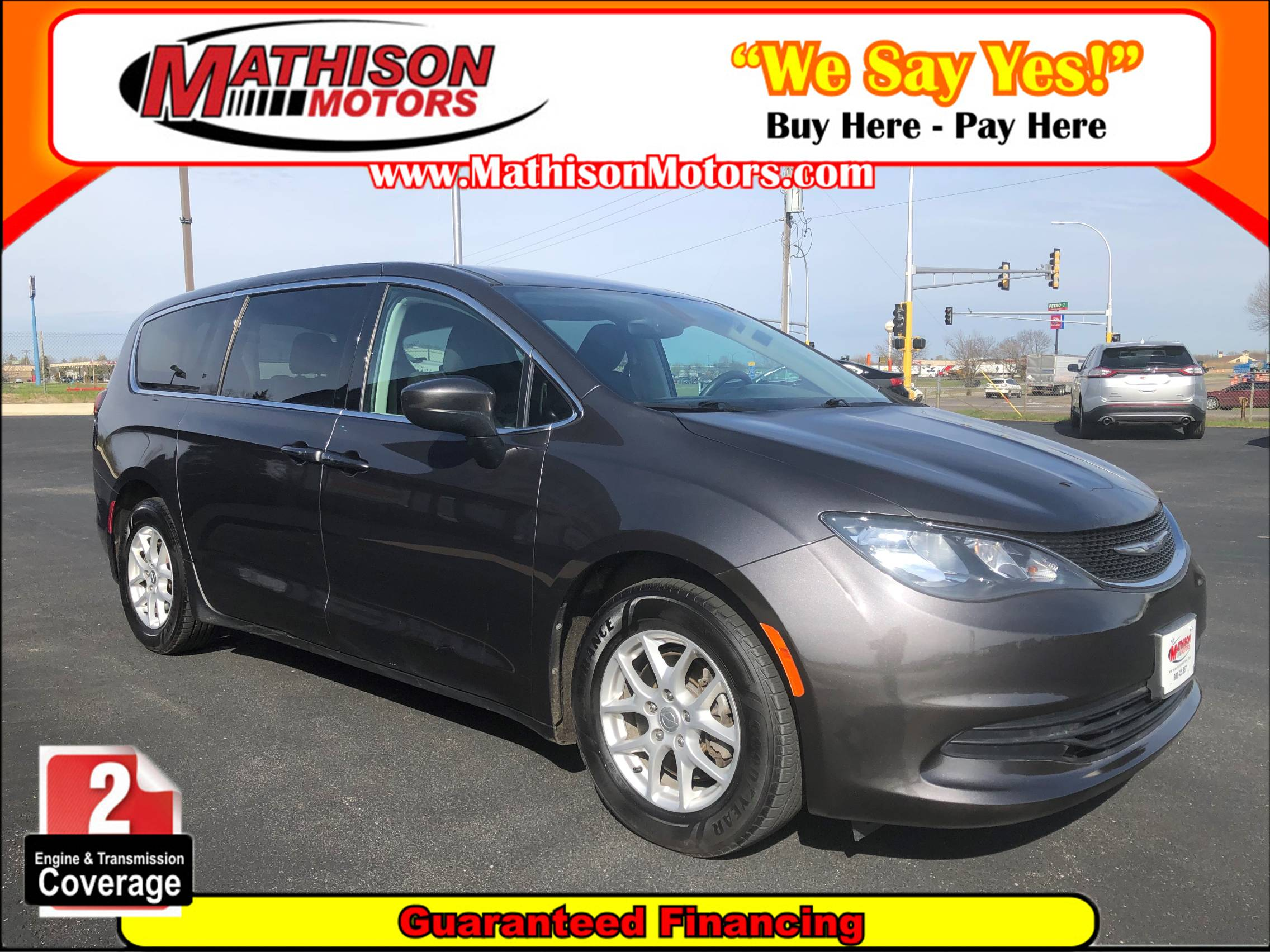 Used CHRYSLER PACIFICA 2017 MATHISON TOURING