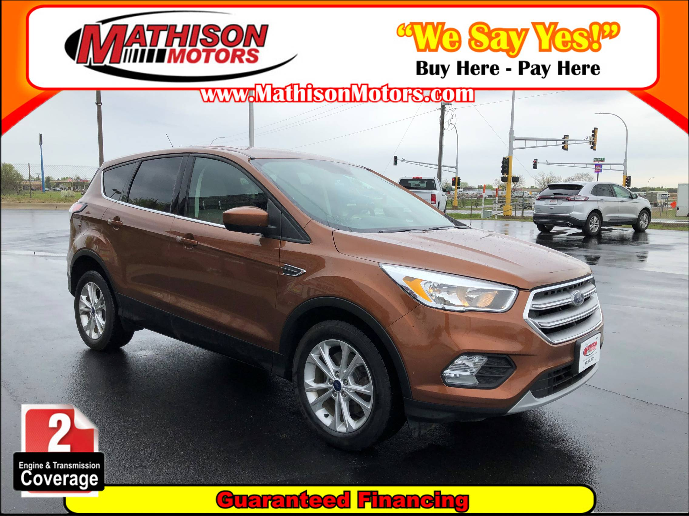 used vehicle - SUV FORD ESCAPE 2017