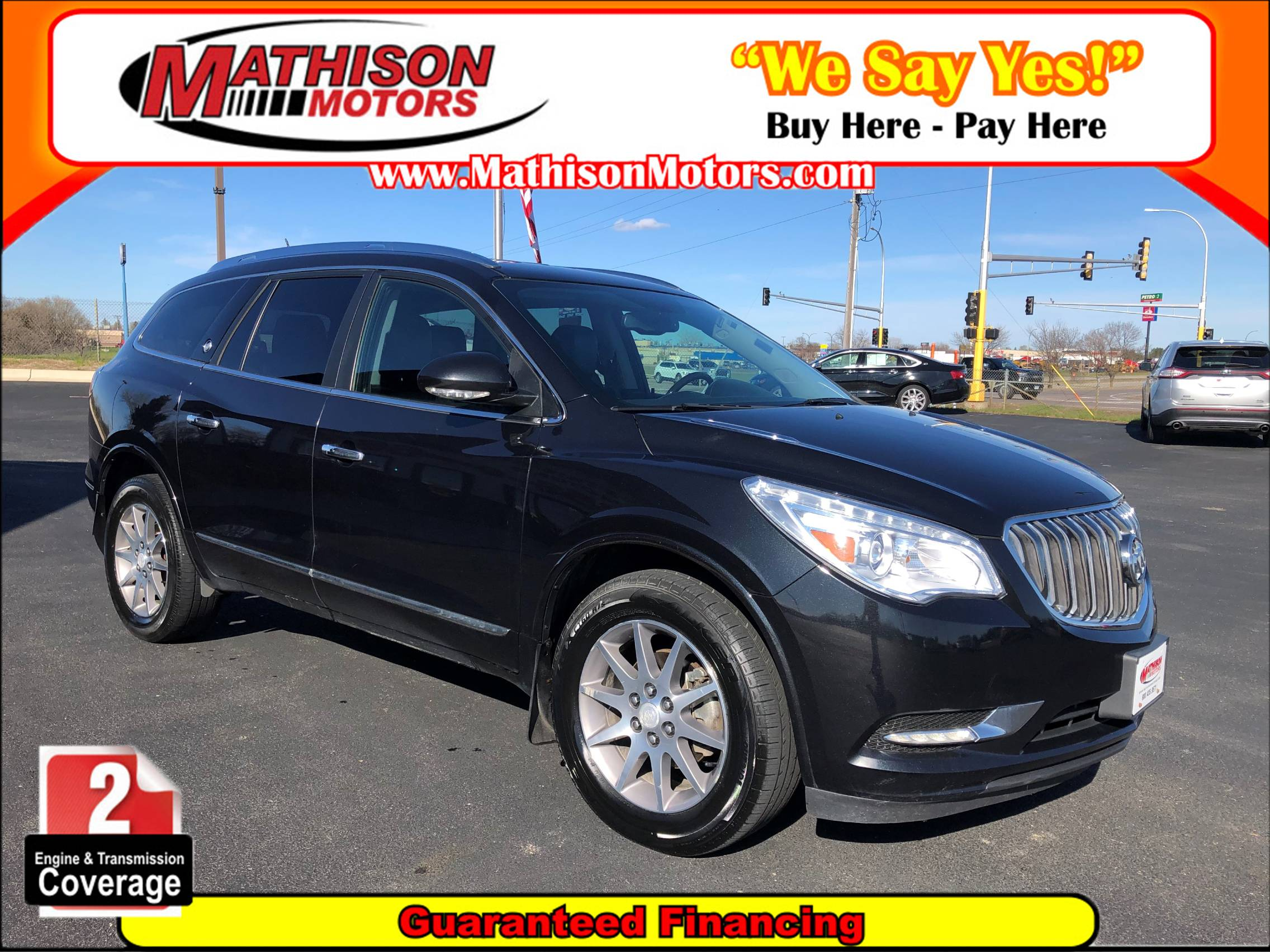 used vehicle - SUV BUICK ENCLAVE 2015