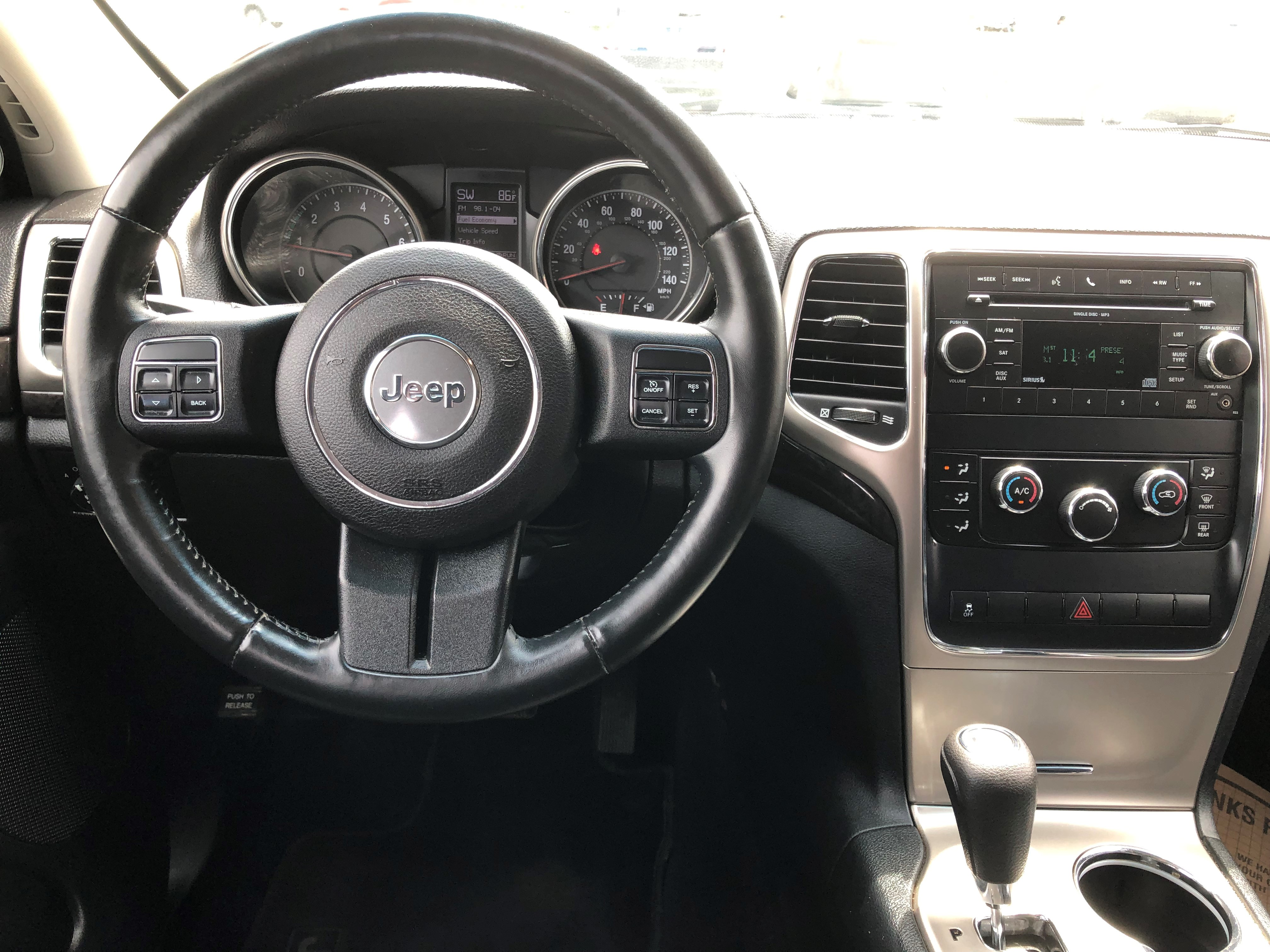 used vehicle - SUV JEEP GRAND CHEROKEE 2011