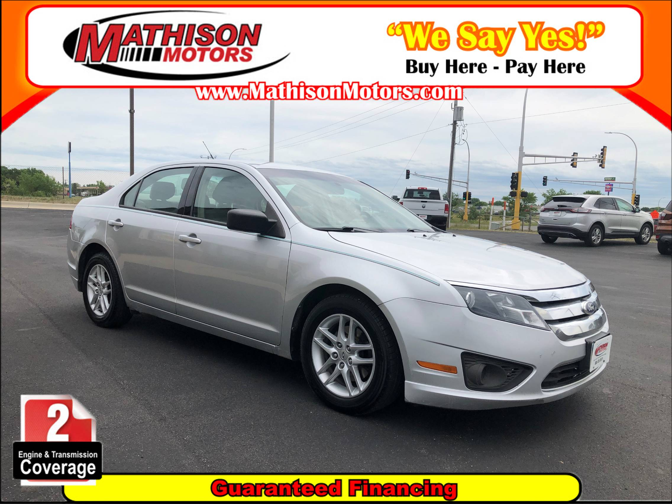 Used FORD FUSION 2011 MATHISON S