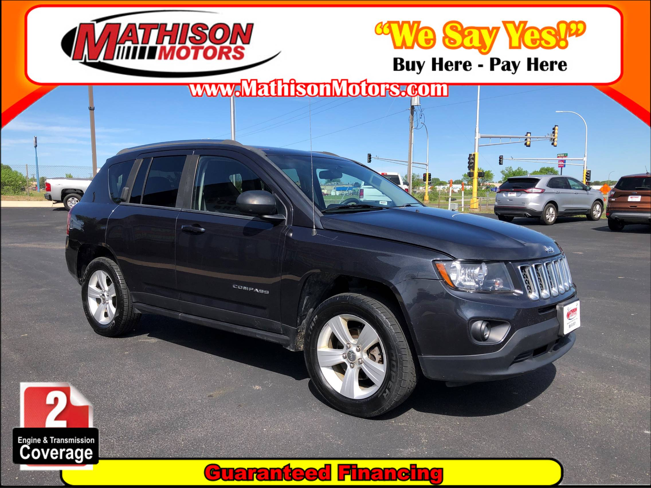 Used JEEP COMPASS 2014 MATHISON SPORT