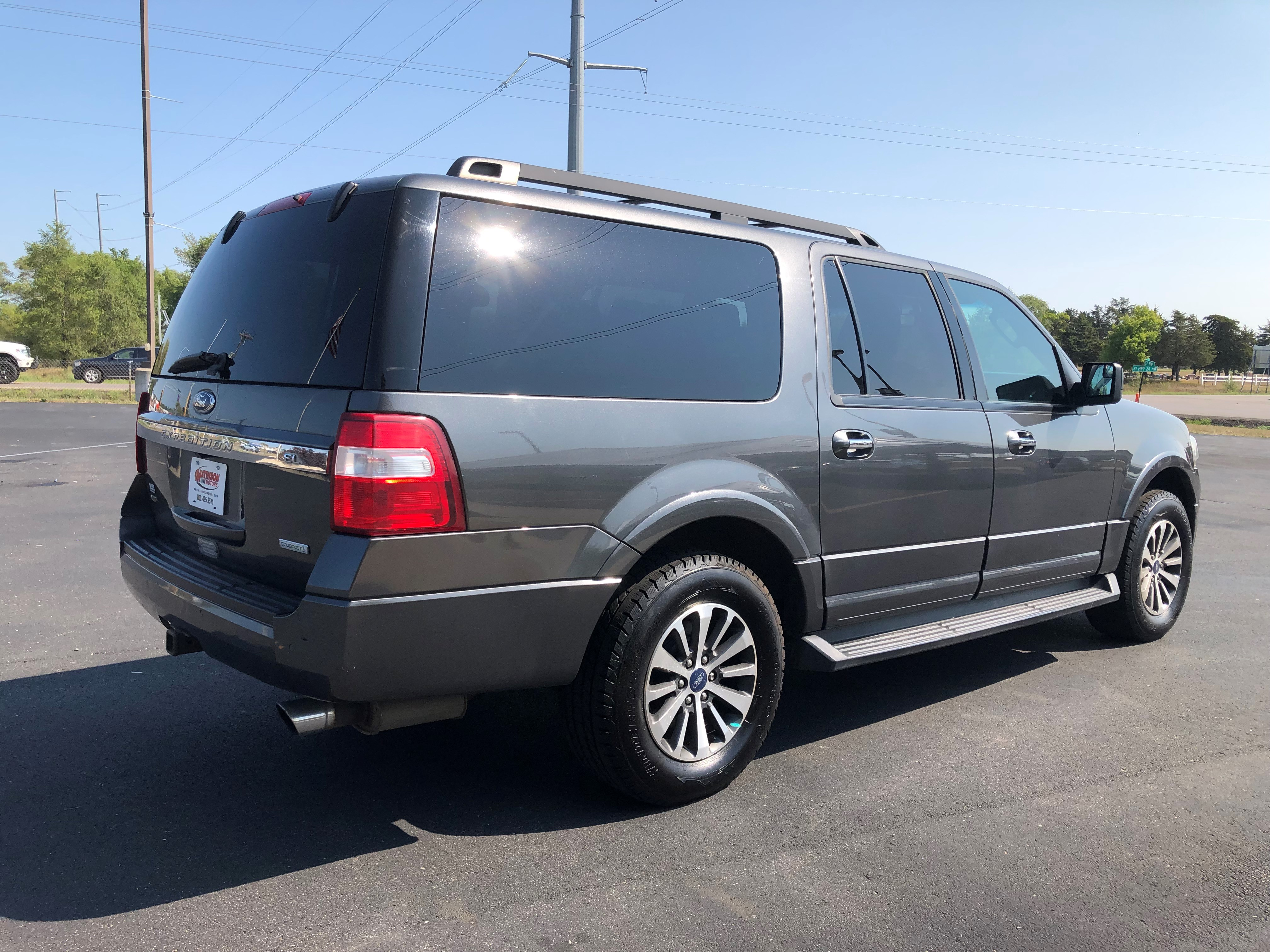 used vehicle - SUV FORD EXPEDITION EL 2015