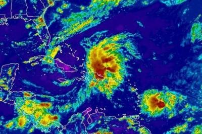 La tormenta tropical Harvey continúa su paso por el Caribe