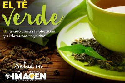 El té verde, un aliado contra el deterioro cognitivo y la obesidad