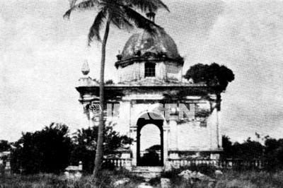 Primer panteón de la ciudad de Veracruz