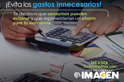 ¡Evita los gastos innecesarios!
