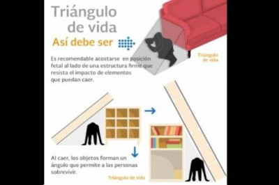 'Triángulo de vida' no funciona en CDMX, advierte Cenapred
