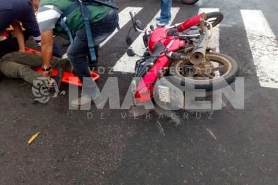 Arrollan a motociclista en Córdoba