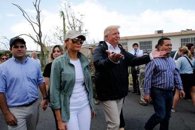Trump minimiza desastre en Puerto Rico