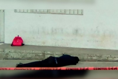 Matan a tiros a alumno de prepa en cafetería, en Oaxaca