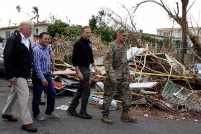 México enviará ayuda a Puerto Rico, afectado por huracán 'María'