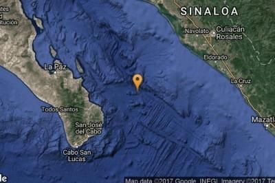 Se registra sismo de 4.2 en Los Cabos