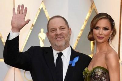 Abandona esposa a Harvey Weinstein