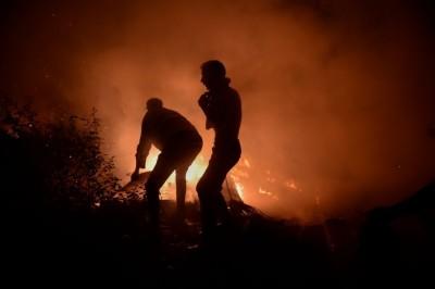 Al menos 34 muertos por incendios en Galicia y Portugal