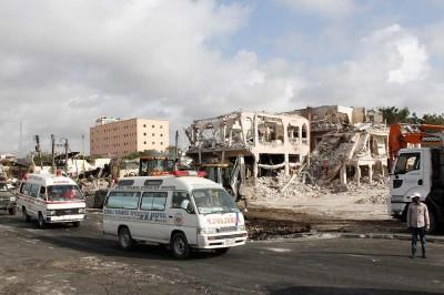 Reportan más de 300 muertos en Somalia por ataque