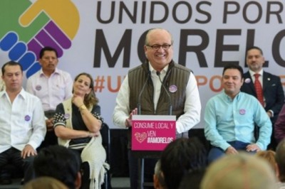 Graco anuncia nuevas medidas para reactivar economía de Morelos