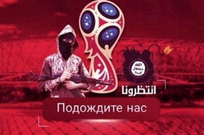 ISIS amenaza contra el Mundial de Rusia 2018