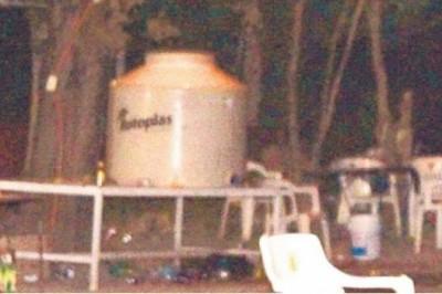 Se intoxican en tremendo festejo con 500 litros de 'aguas locas'